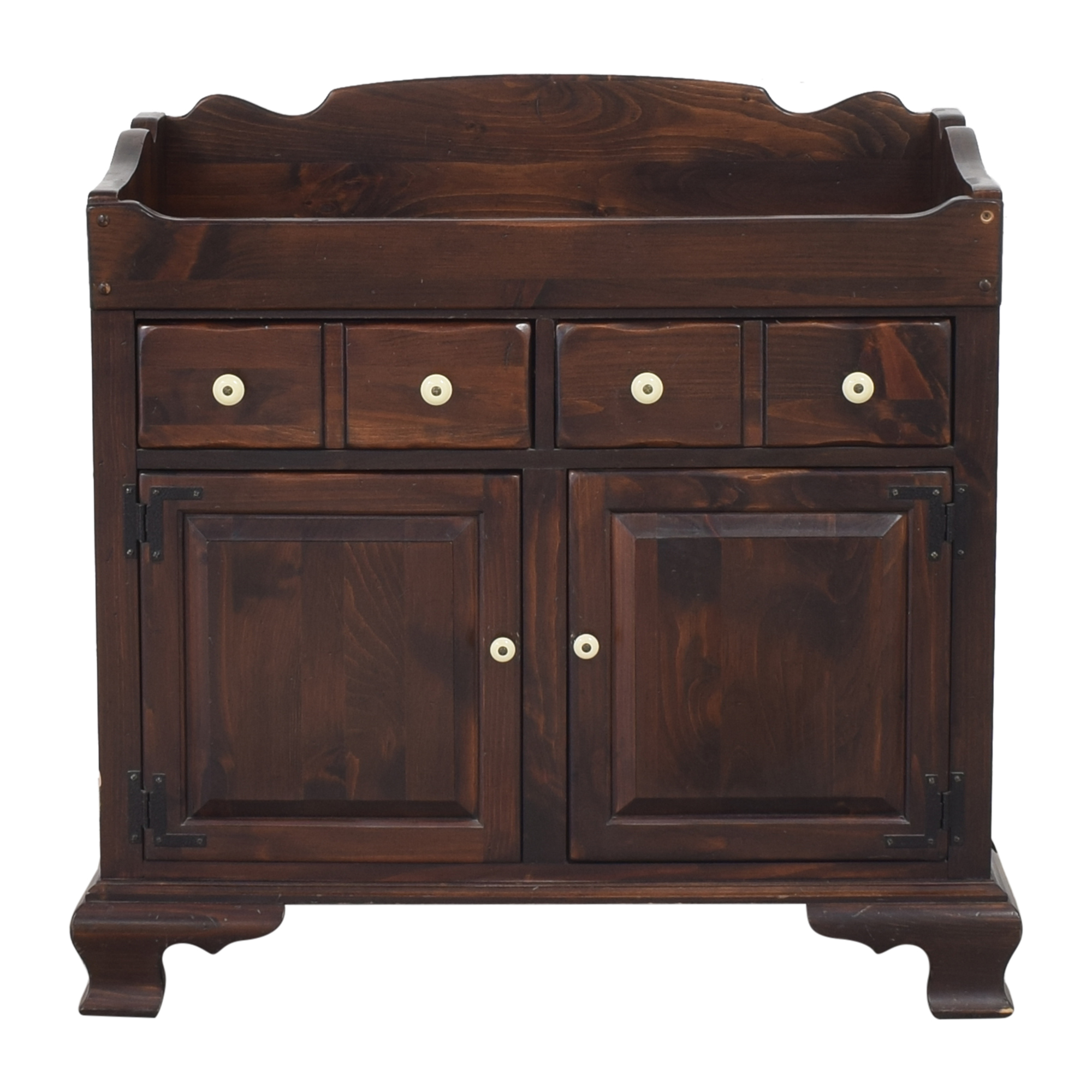 Ethan Allen Colonial-Style Dry Sink Cabinet / Storage