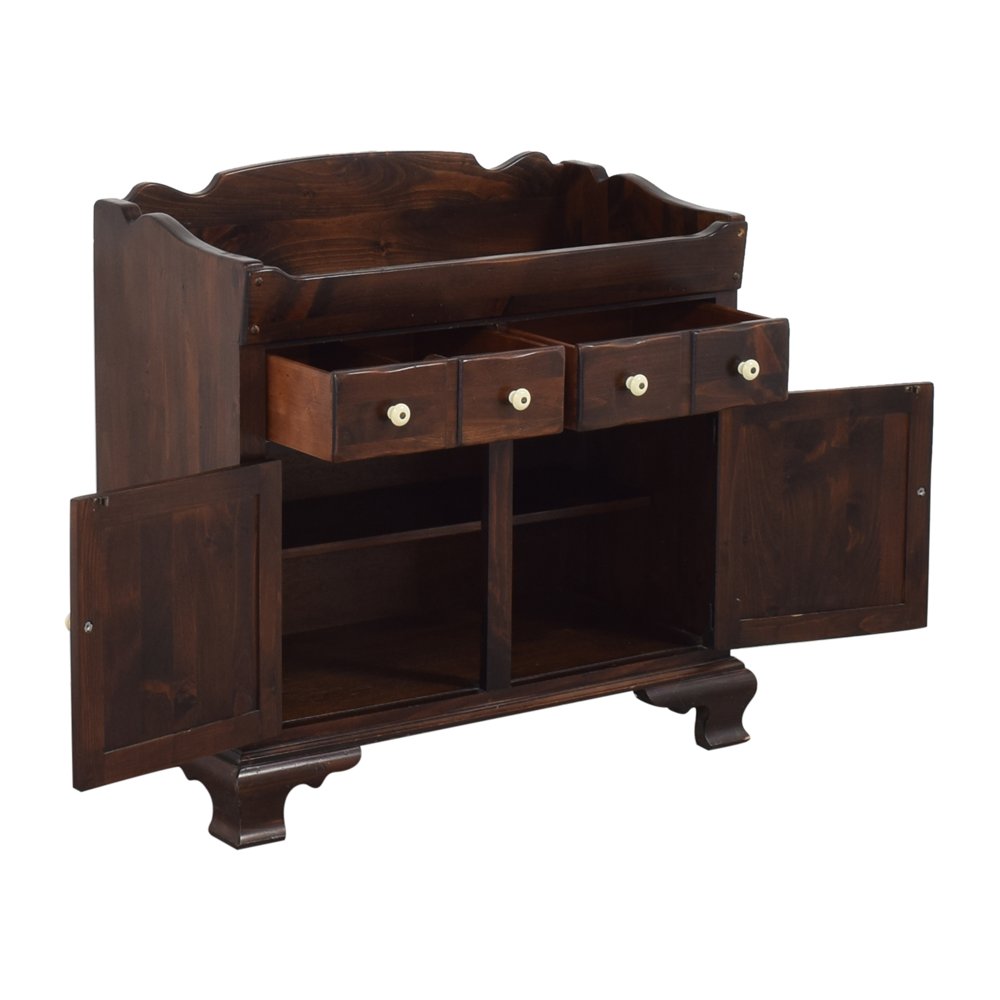 buy Ethan Allen Colonial-Style Dry Sink Cabinet Ethan Allen Cabinets & Sideboards