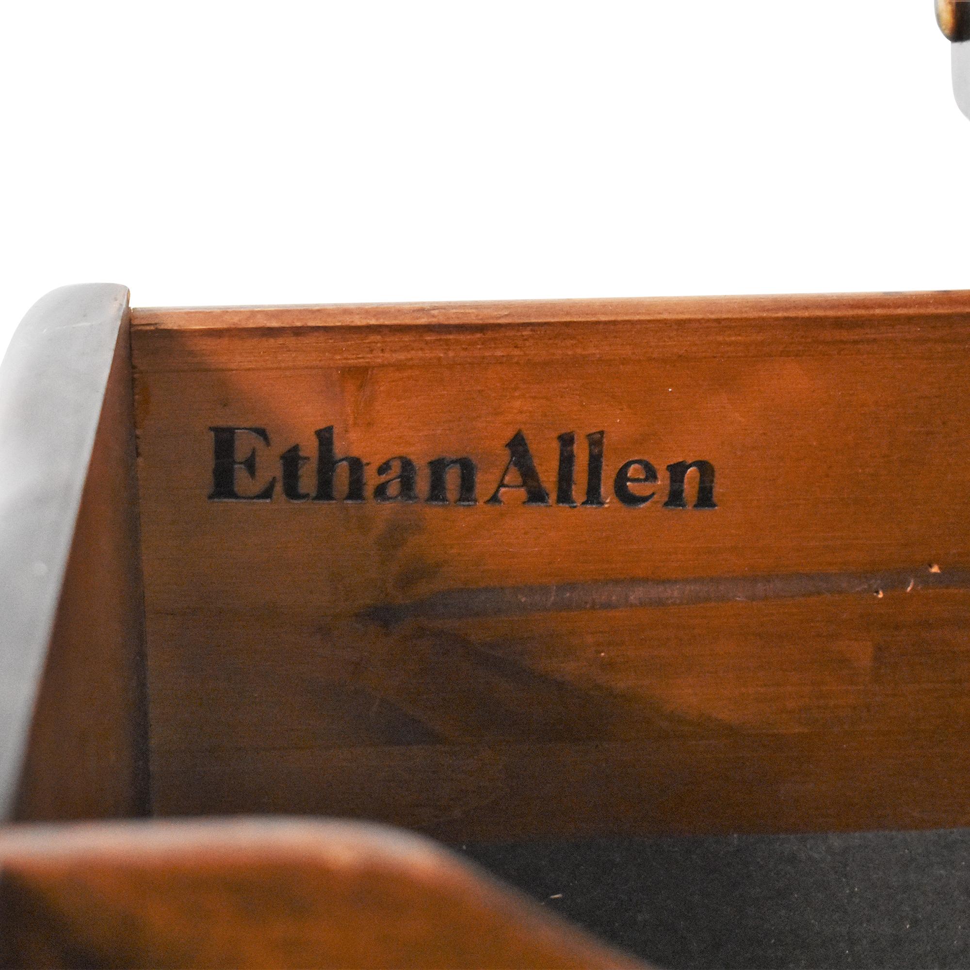 shop Ethan Allen Colonial-Style Dry Sink Cabinet Ethan Allen Storage