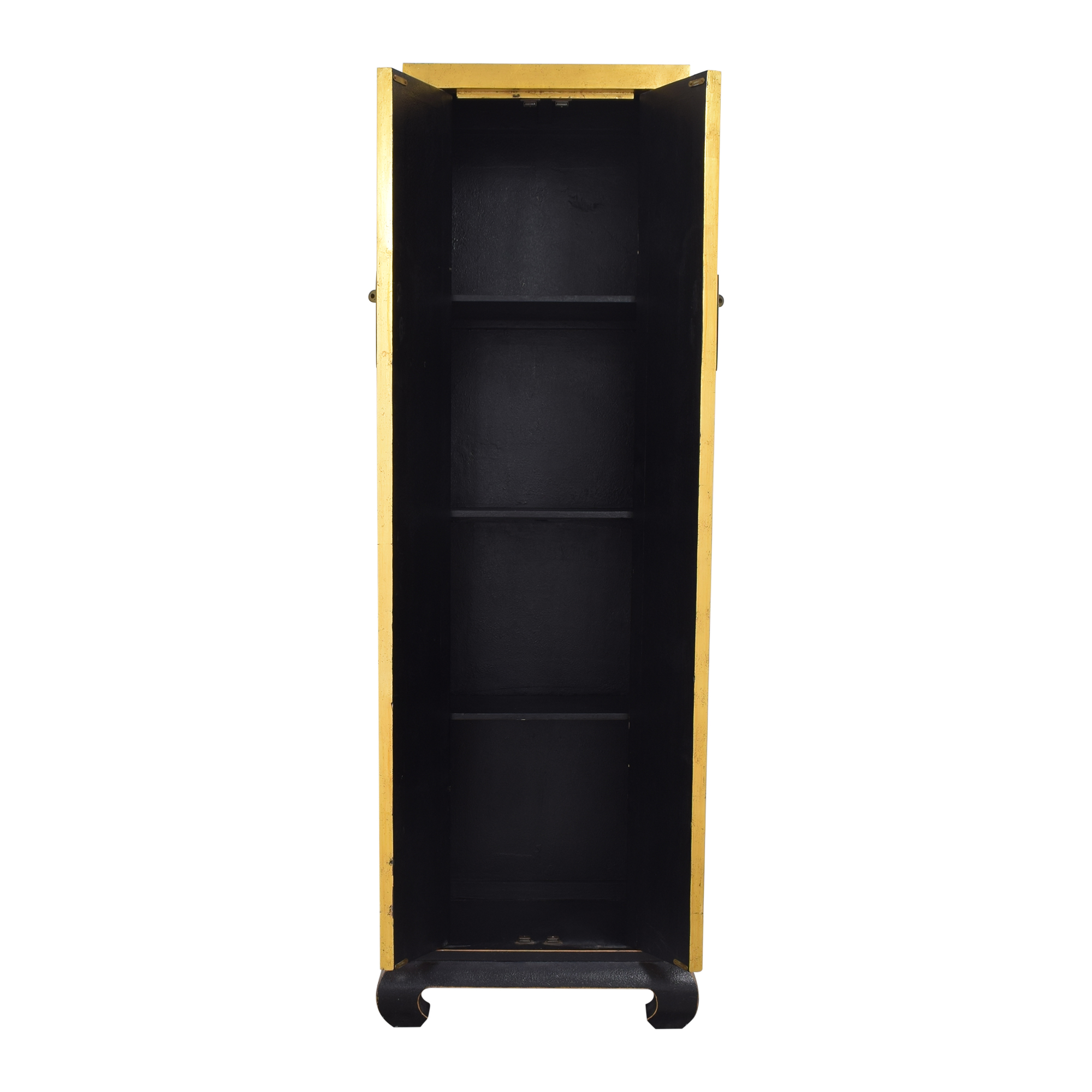 ABC Carpet & Home Tall Chinoiserie Cabinet sale