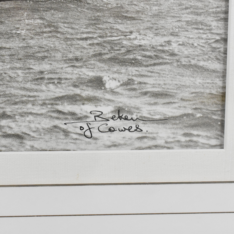 Ethan Allen  Ethan Allen Cetonia 1911 Racing Yacht Framed Art multi