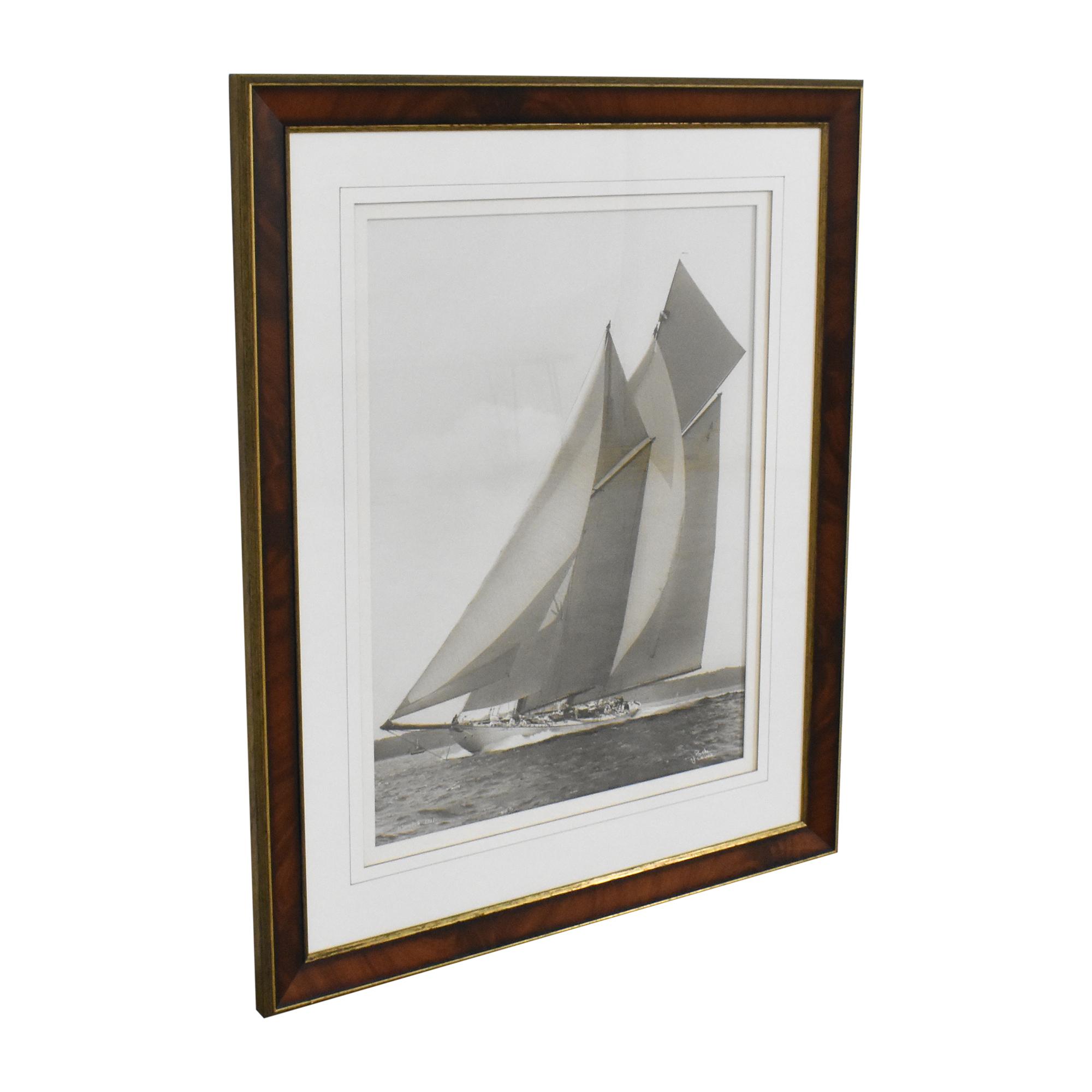 Ethan Allen  Ethan Allen Framed Wall Art pa