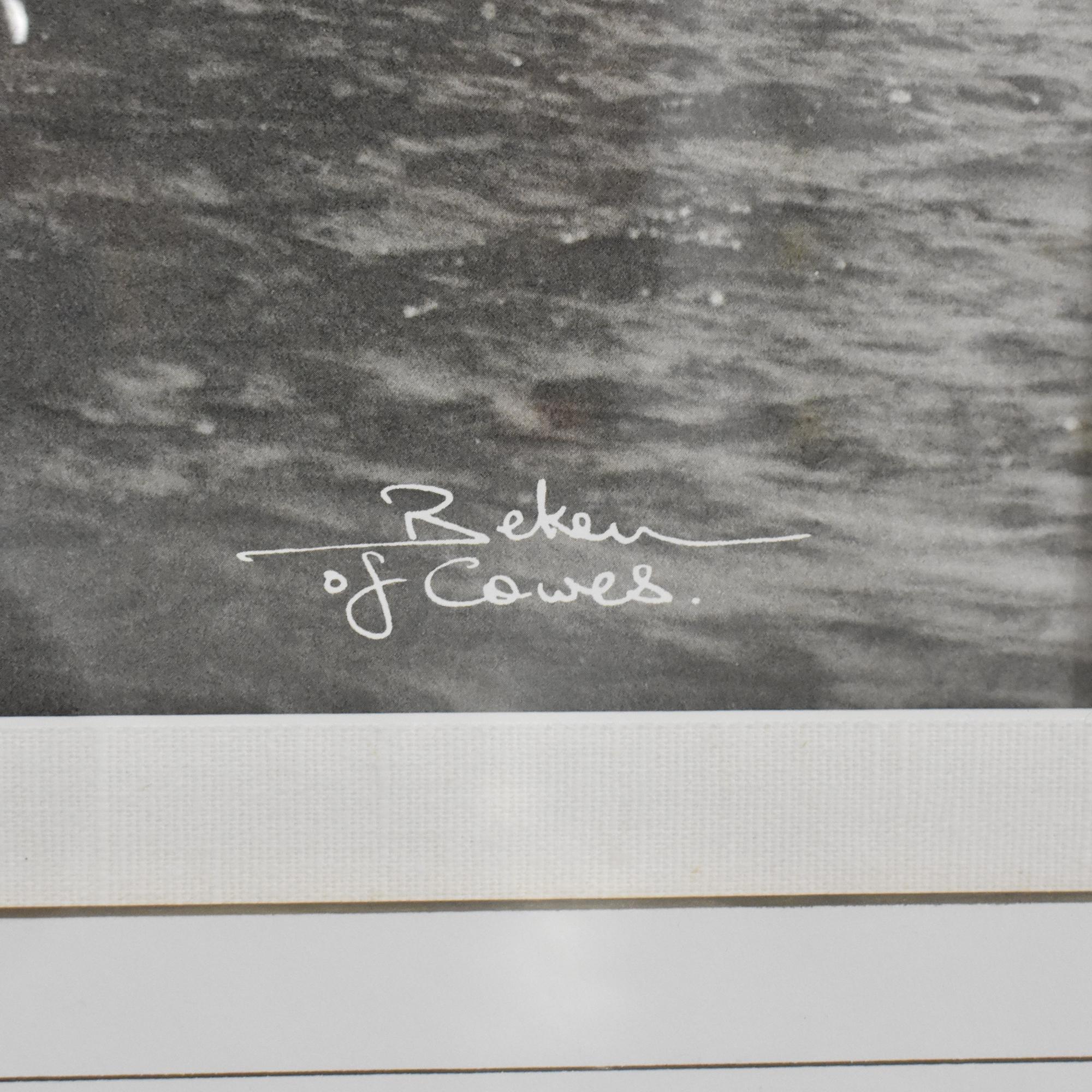 Ethan Allen  Ethan Allen Framed Wall Art nj