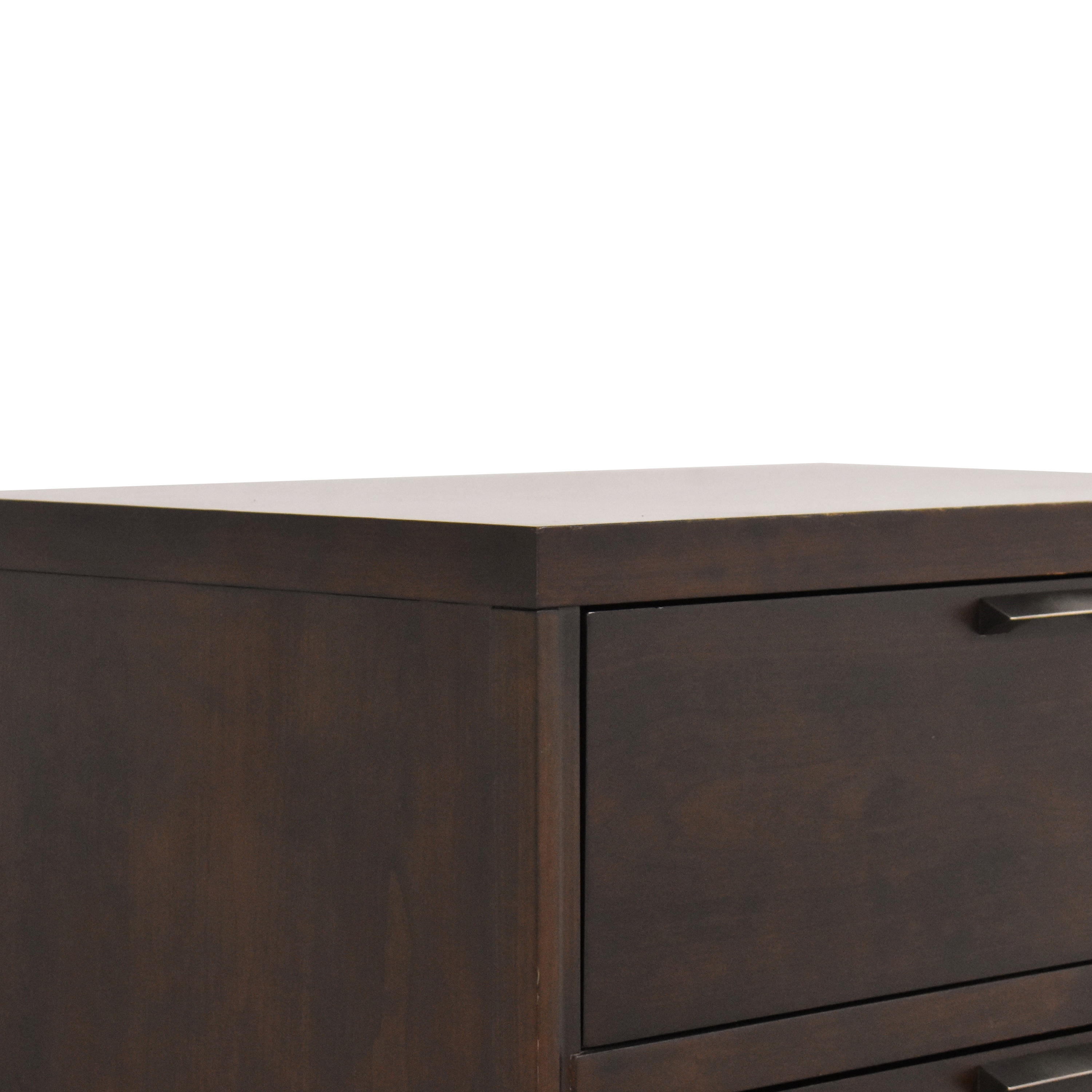 Crate & Barrel Asher Five Drawer Chest Crate & Barrel