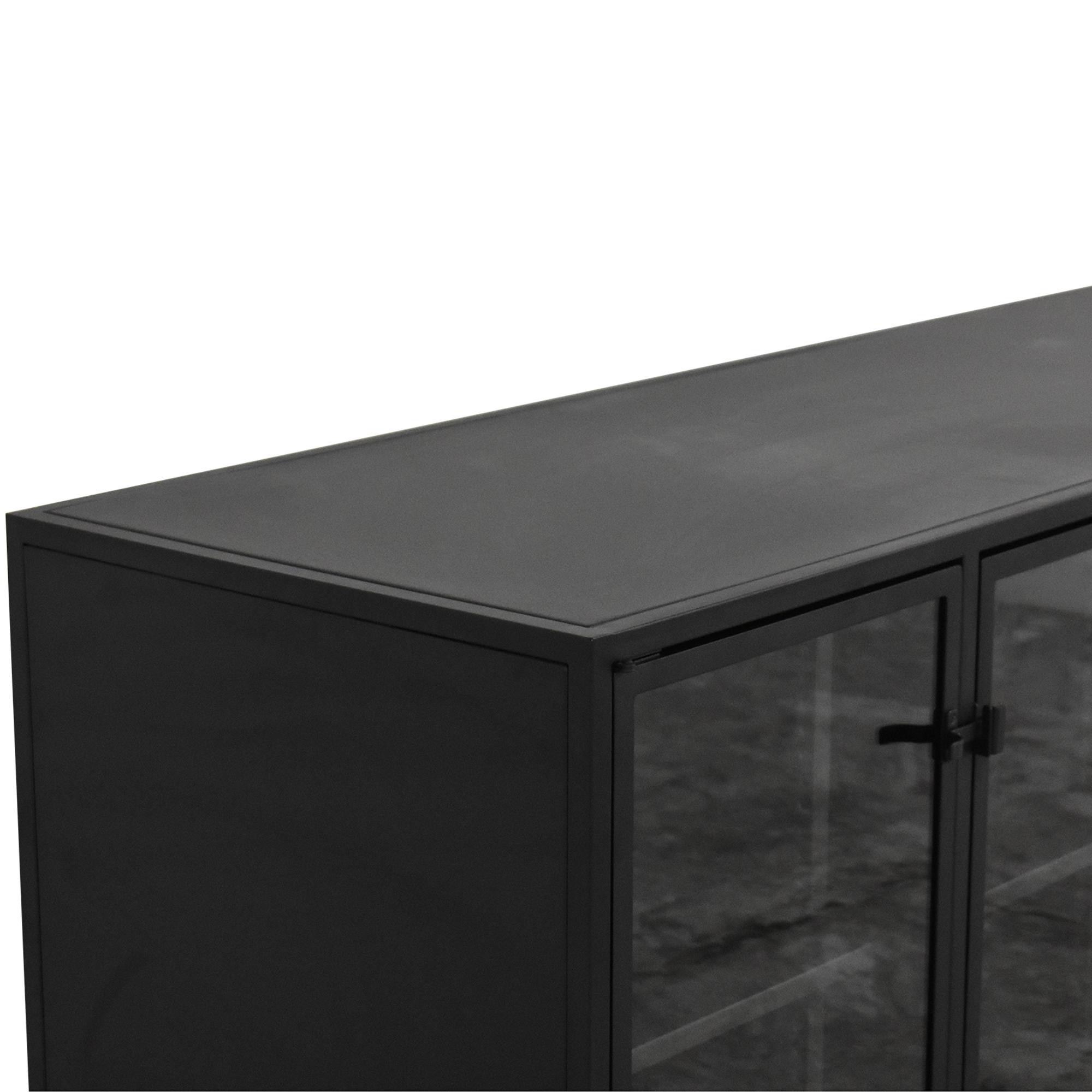 shop Crate & Barrel Casement Large Sideboard Crate & Barrel Cabinets & Sideboards