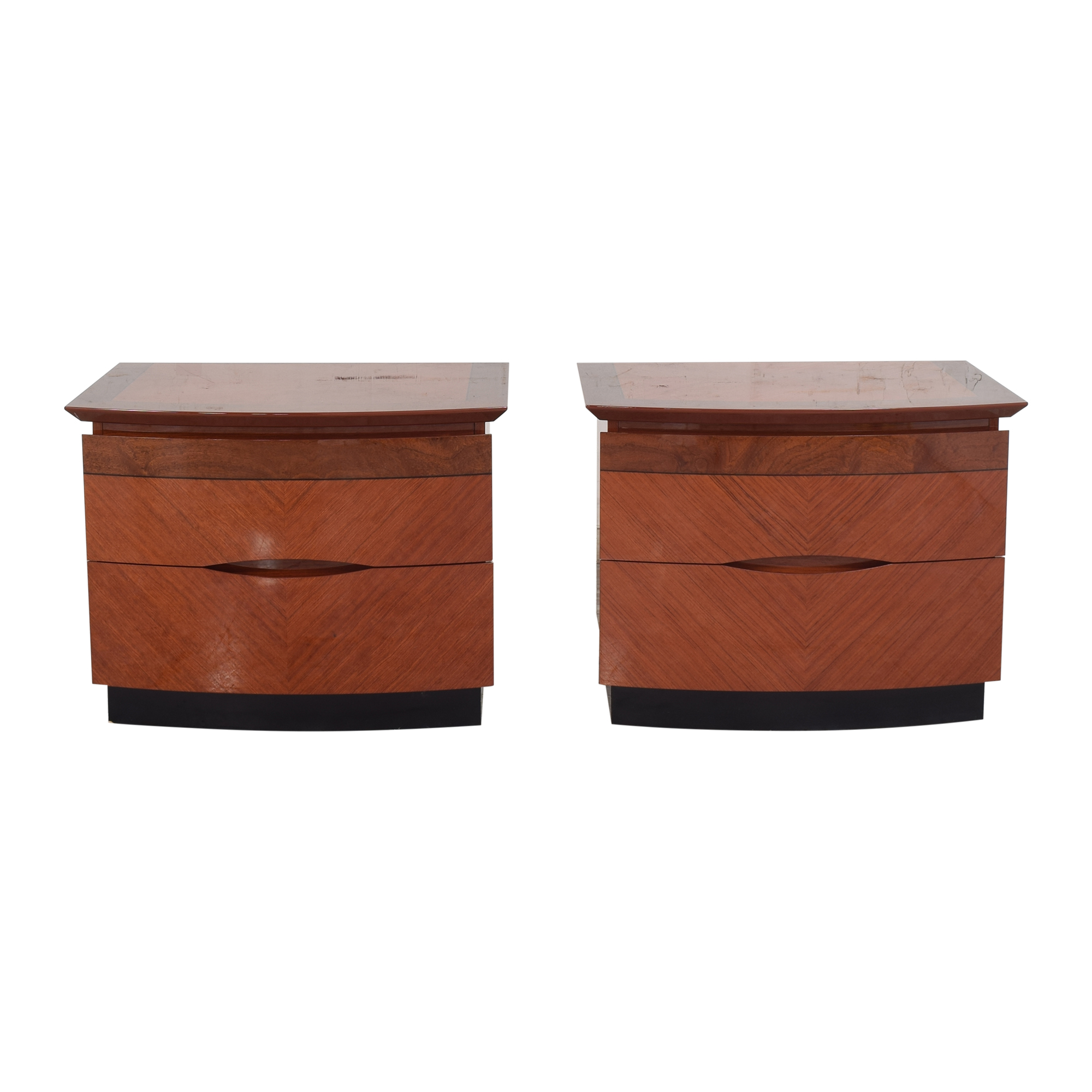 Two Drawer Nightstands  / End Tables