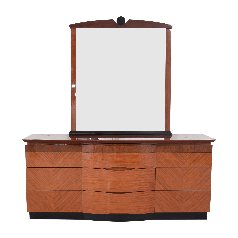 Triple Dresser with Mirror ma