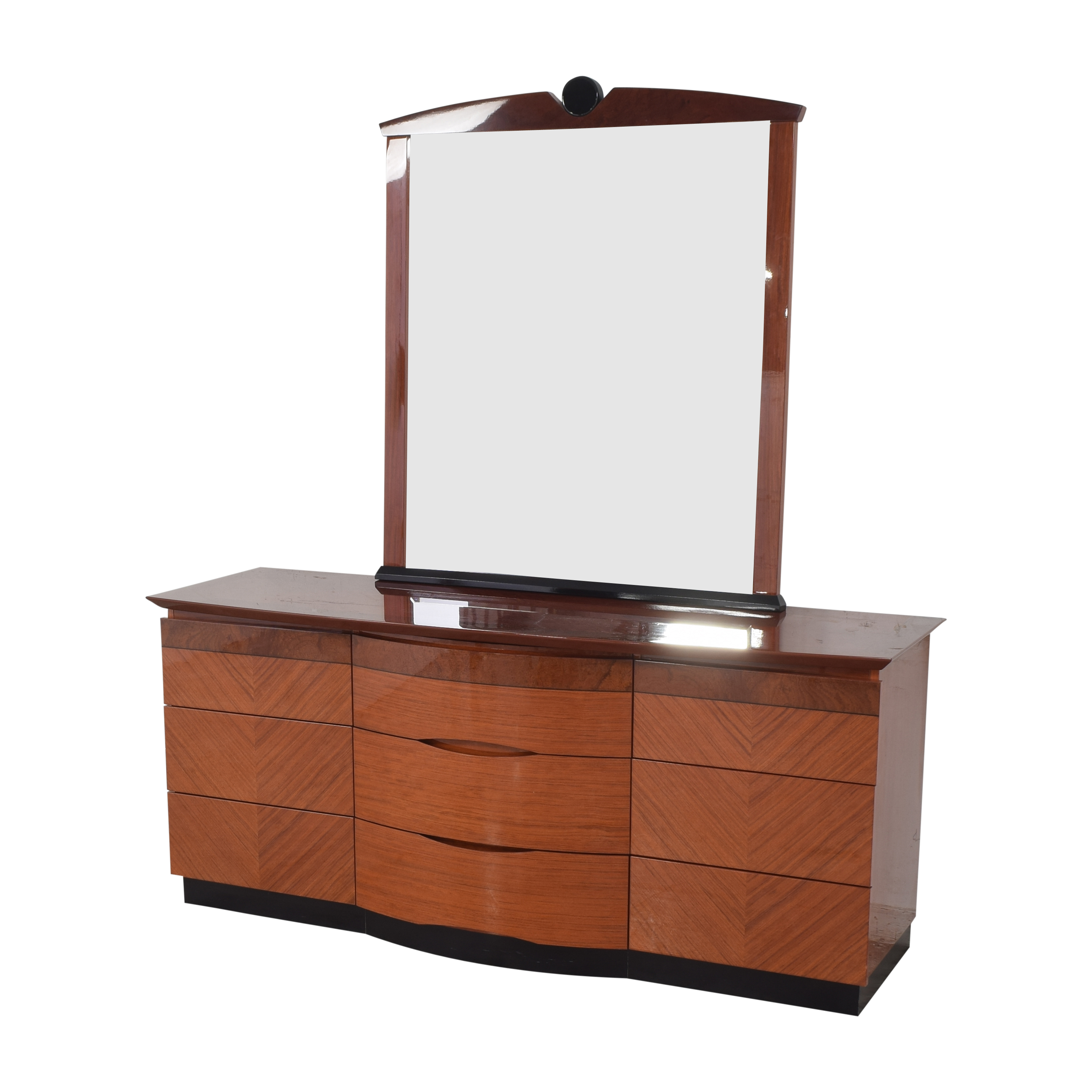 Triple Dresser with Mirror dimensions