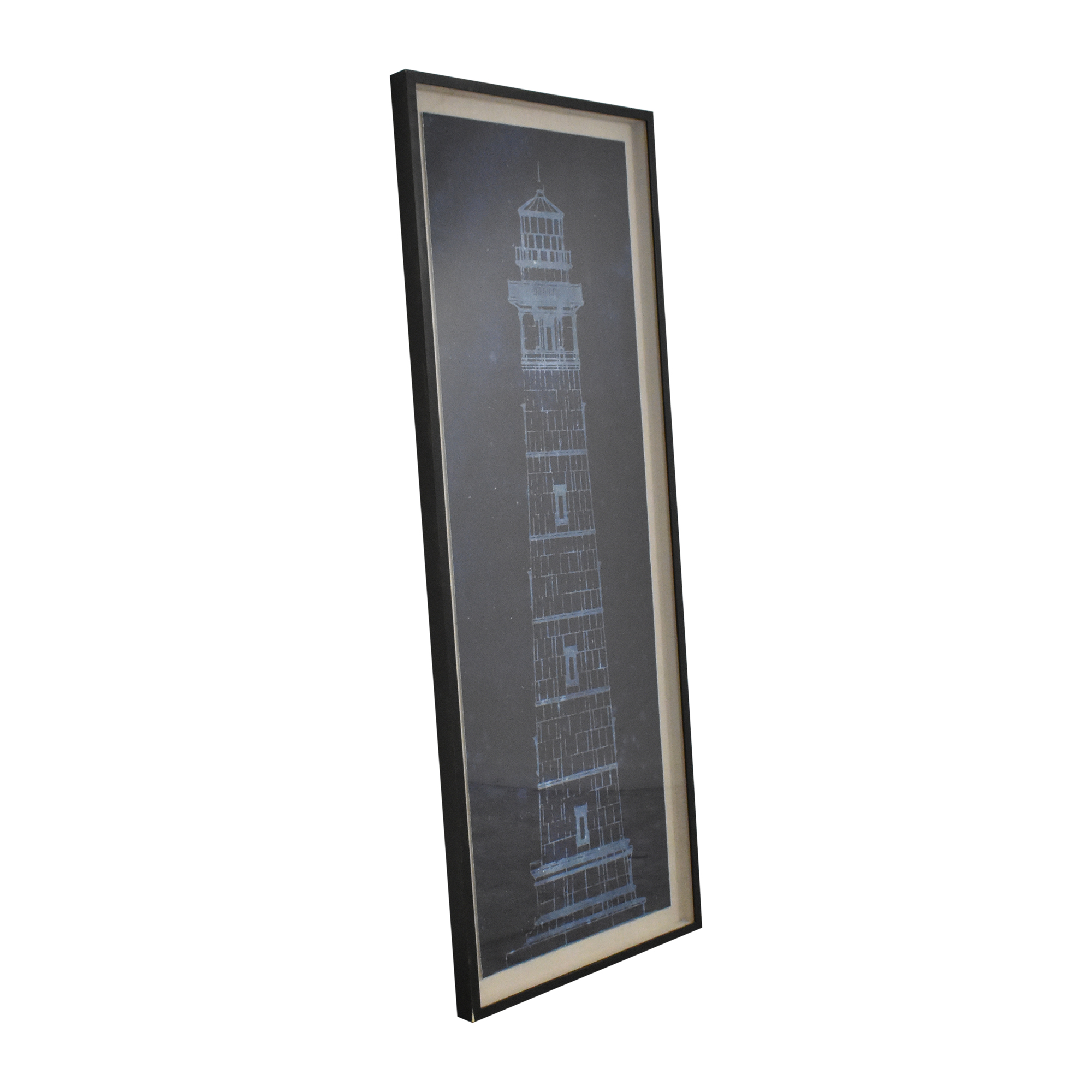 Restoration Hardware Cape Henry Lighthouse Blueprint Restoration Hardware