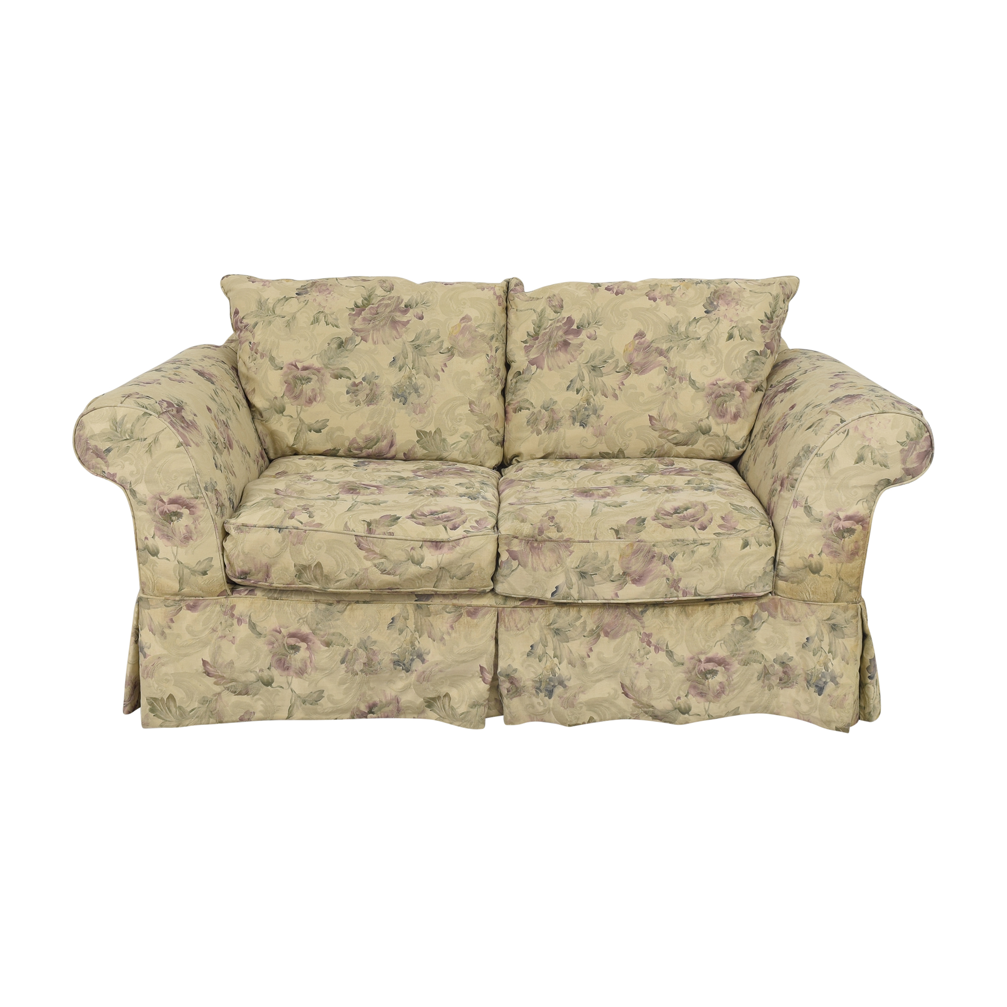 Domain Home Domain Home Floral Two Seat Sofa ct