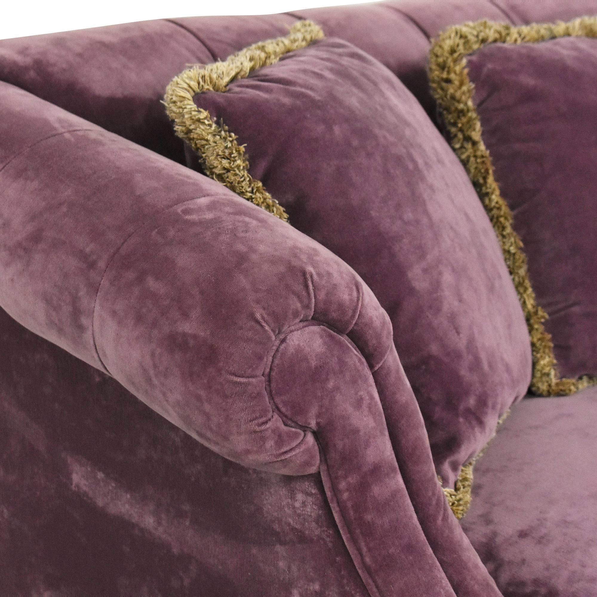 Domain Tufted Two Cushion Sofa / Sofas