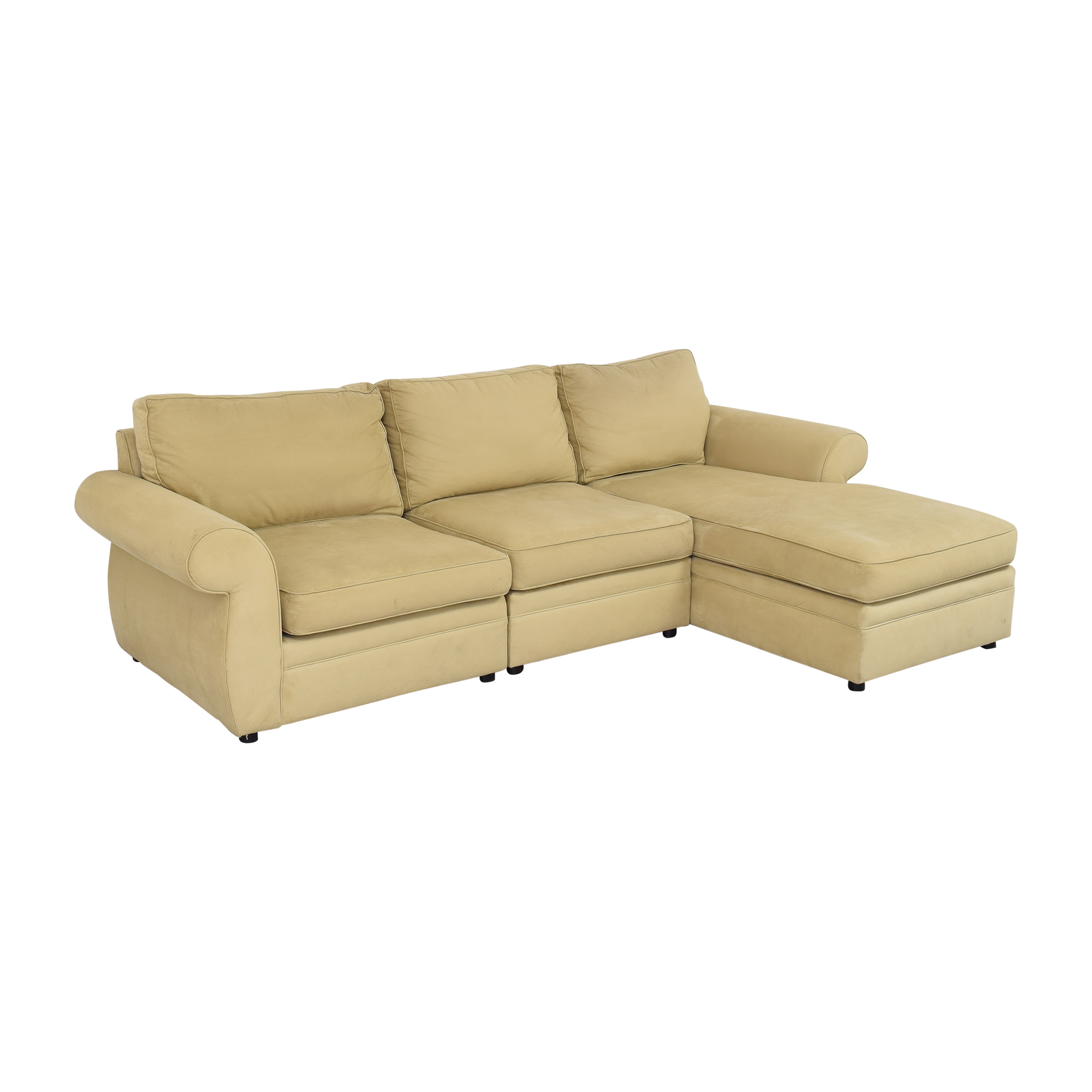 Pottery Barn Pottery Barn Chaise Sectional Sofa for sale