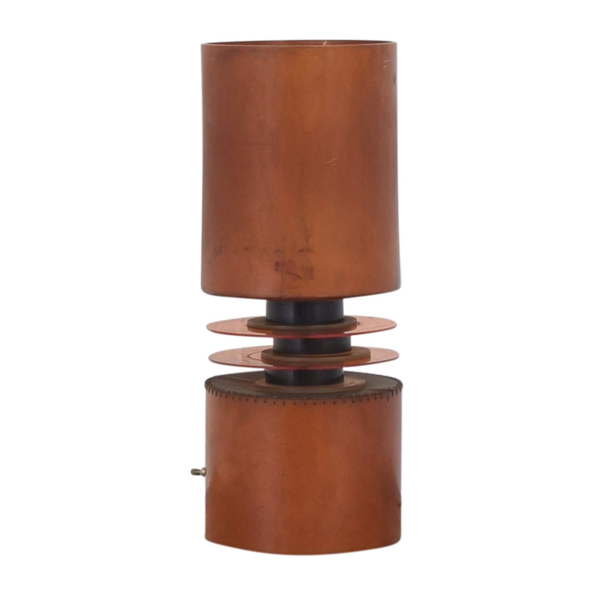 Cylindrical Table Lamp Decor
