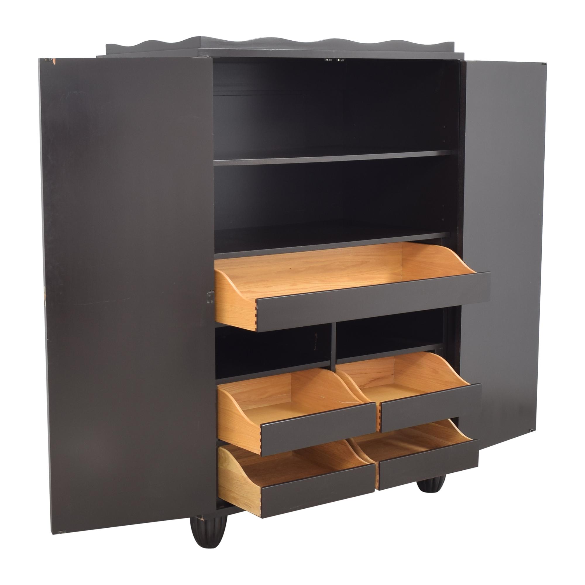 Baker Furniture Barbara Barry for Baker Furniture Armoire pa
