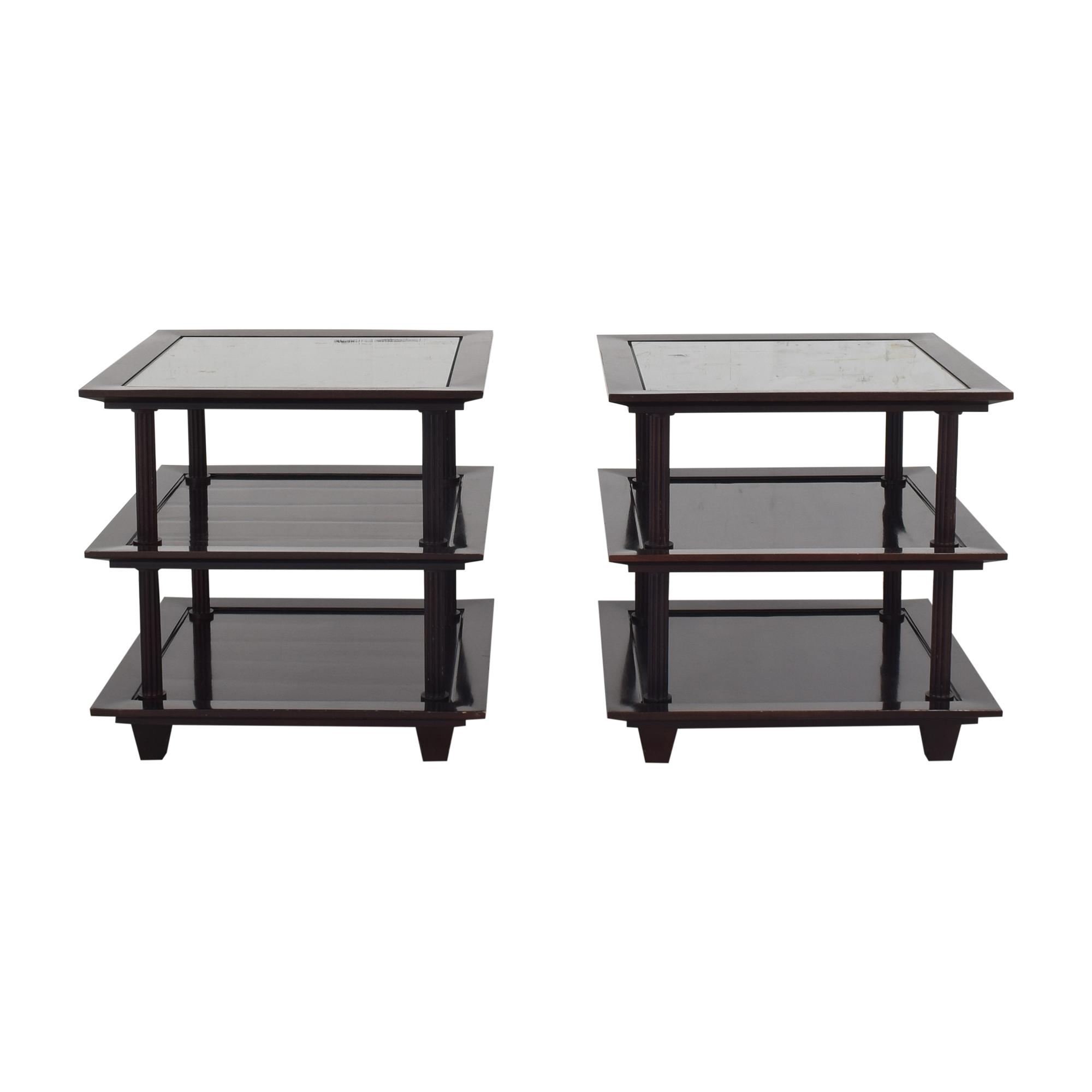 shop Baker Furniture Baker Furniture Three Tier Side Tables by Barbara Barry online