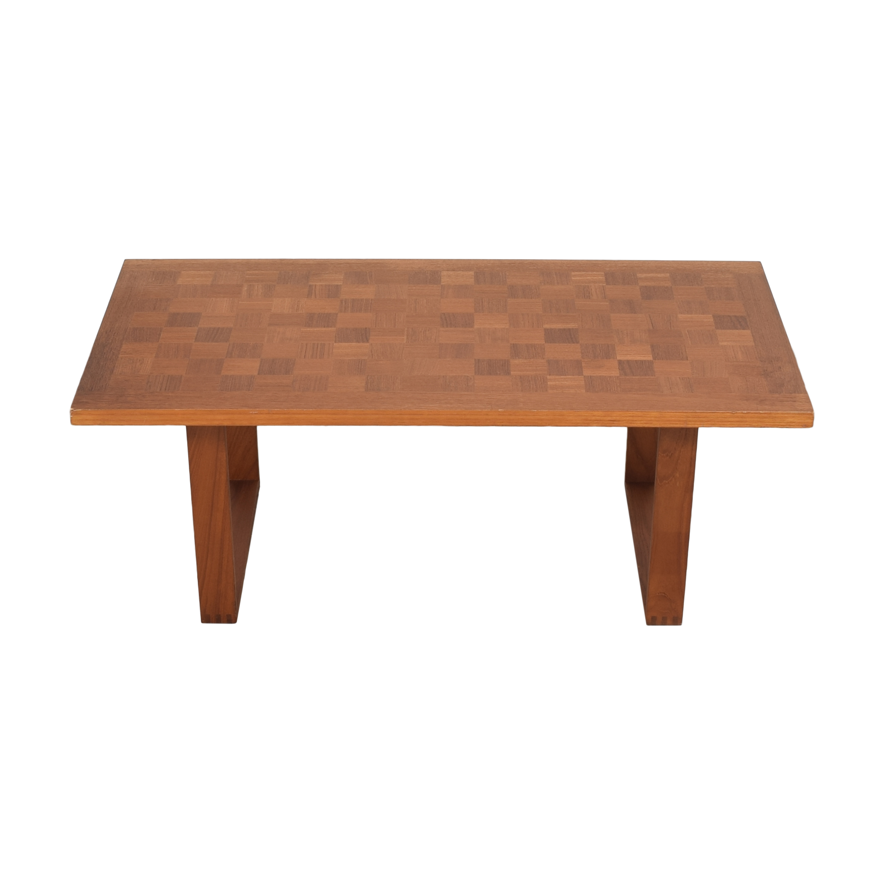 France and Son France and Son Checkerboard Coffee Table pa