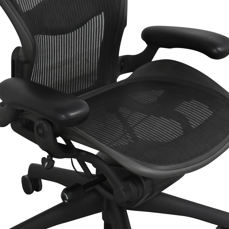 Herman Miller Herman Miller Size B Aeron Chair for sale