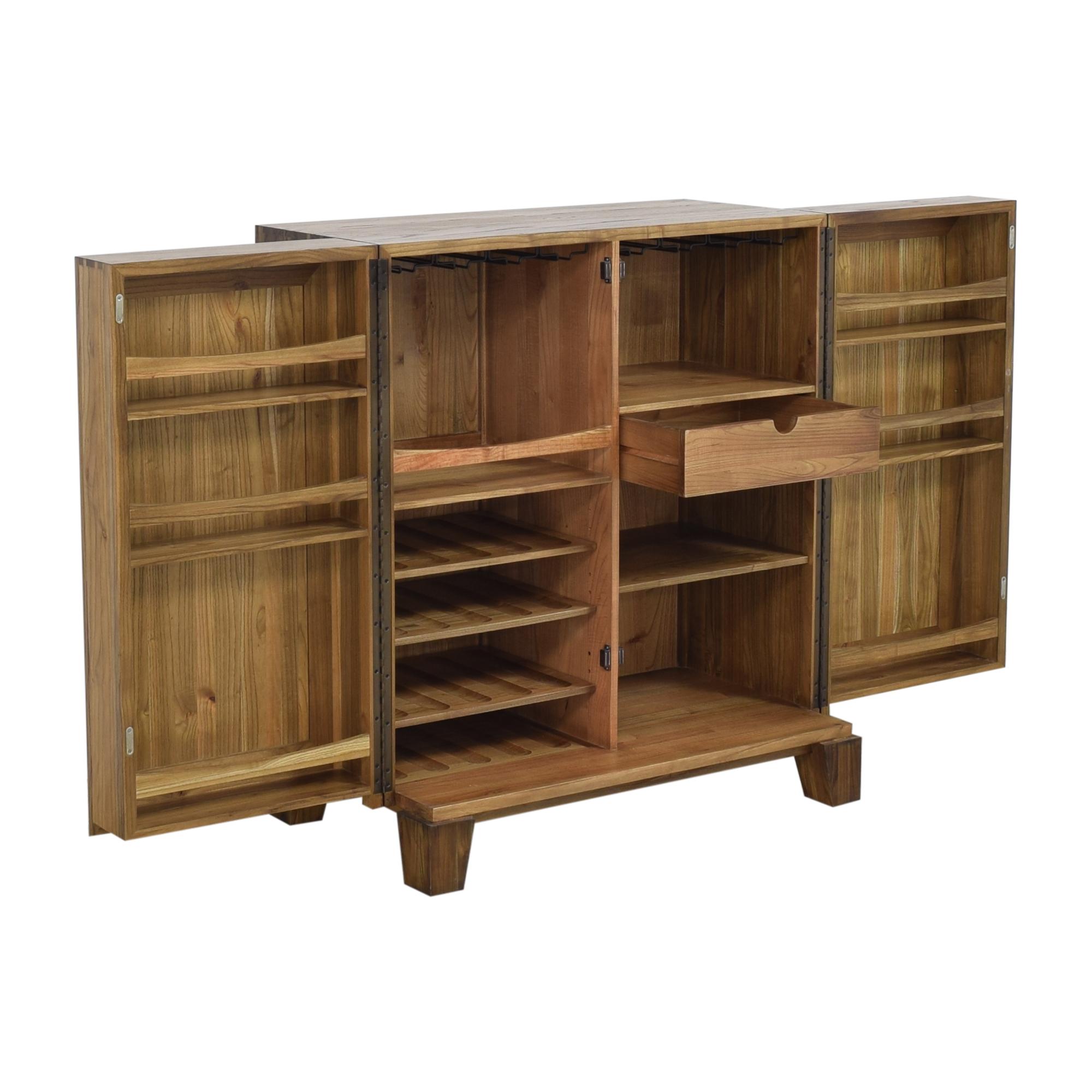 Crate & Barrel Crate & Barrel Marin Bar Cabinet on sale