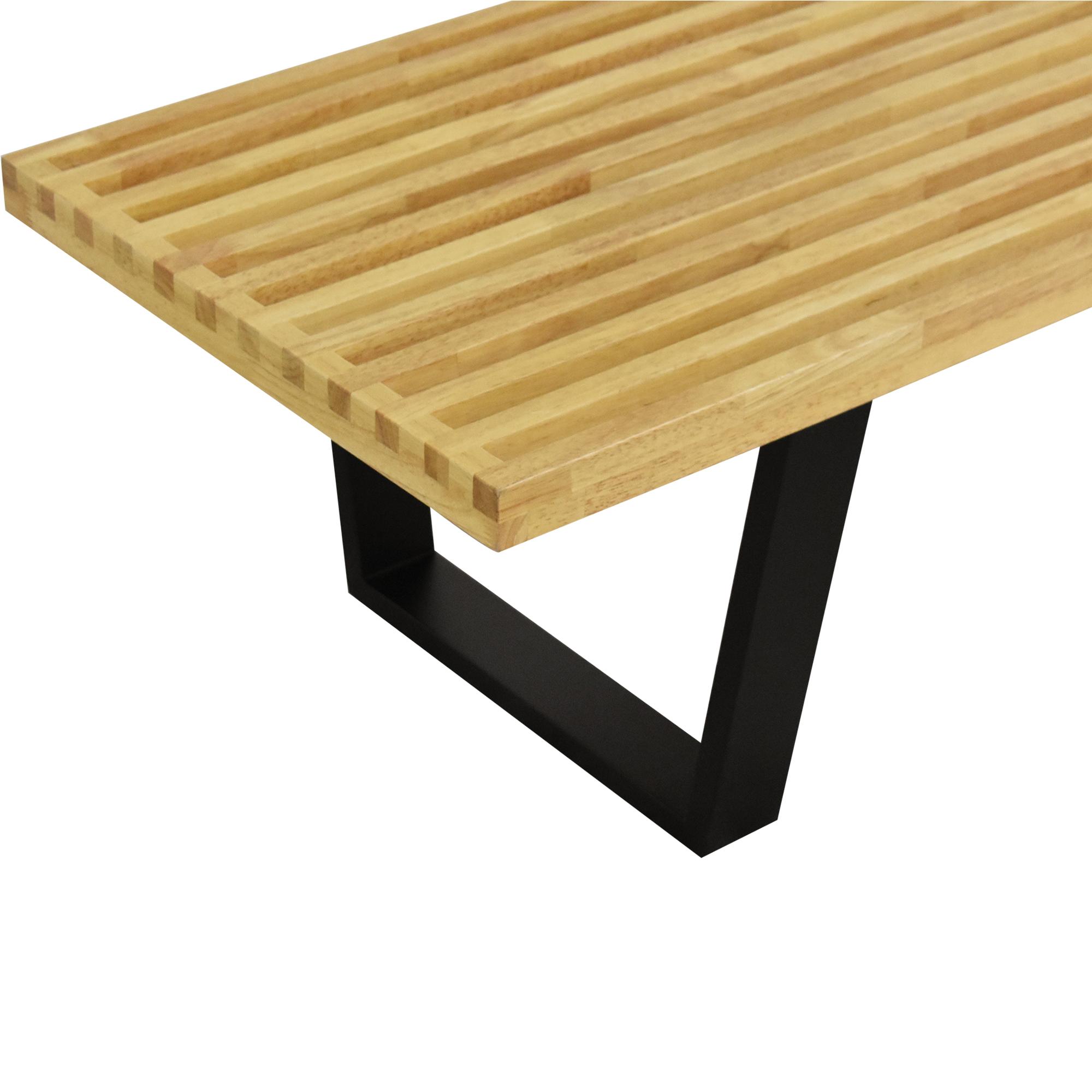 Nelson-Style Platform Bench
