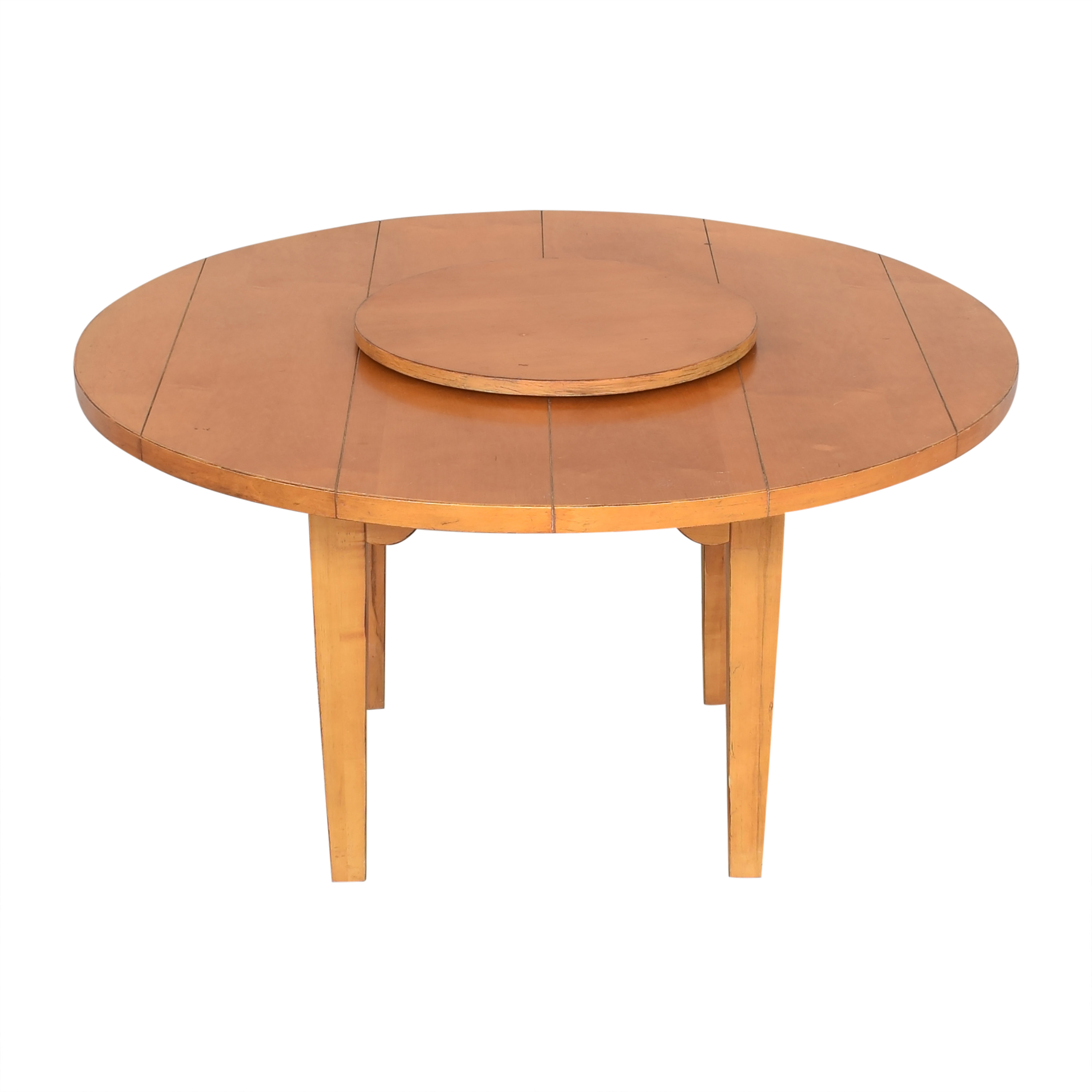 Drexel Heritage Round Dining Table with Lazy Susan sale