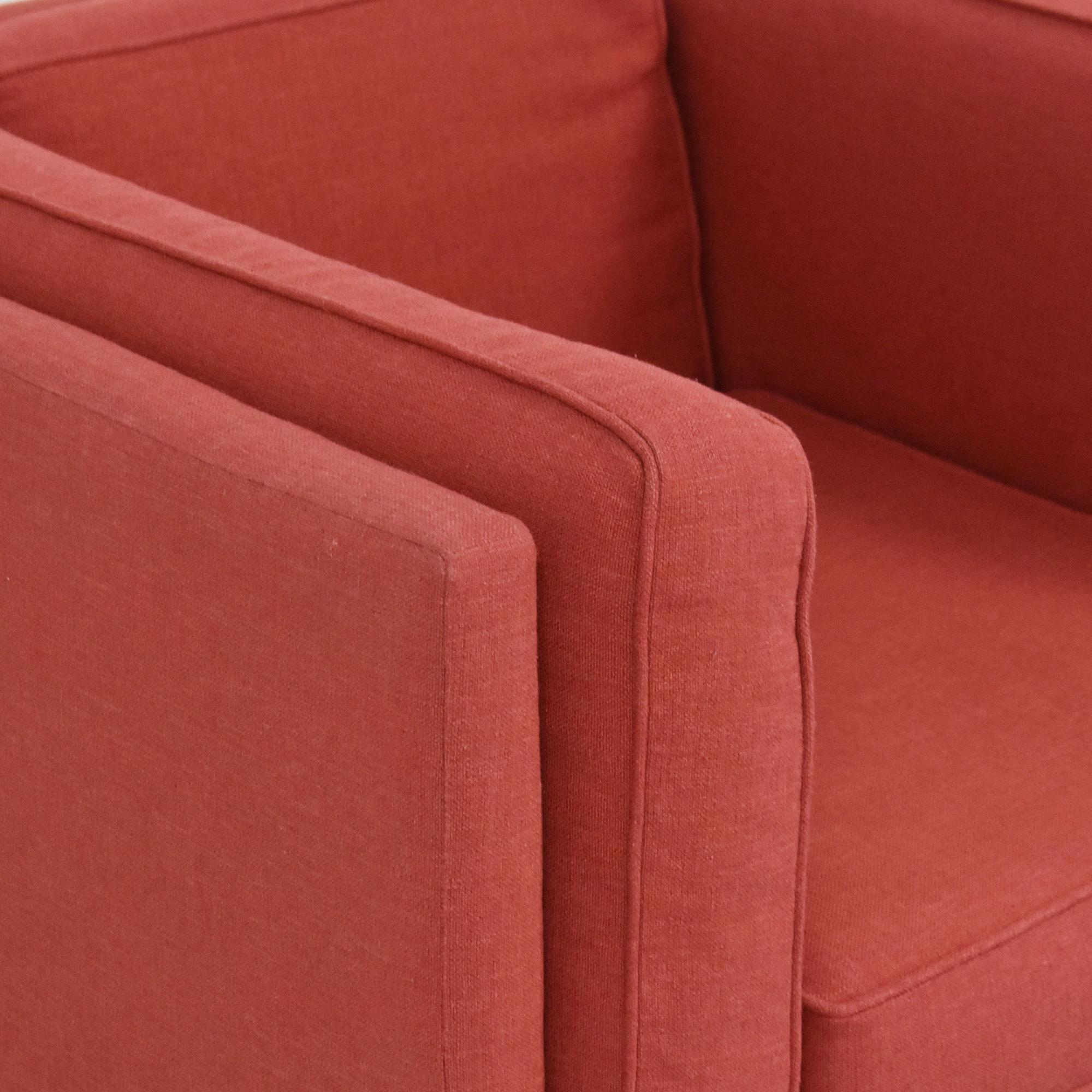 BluDot Bank Lounge Chair sale