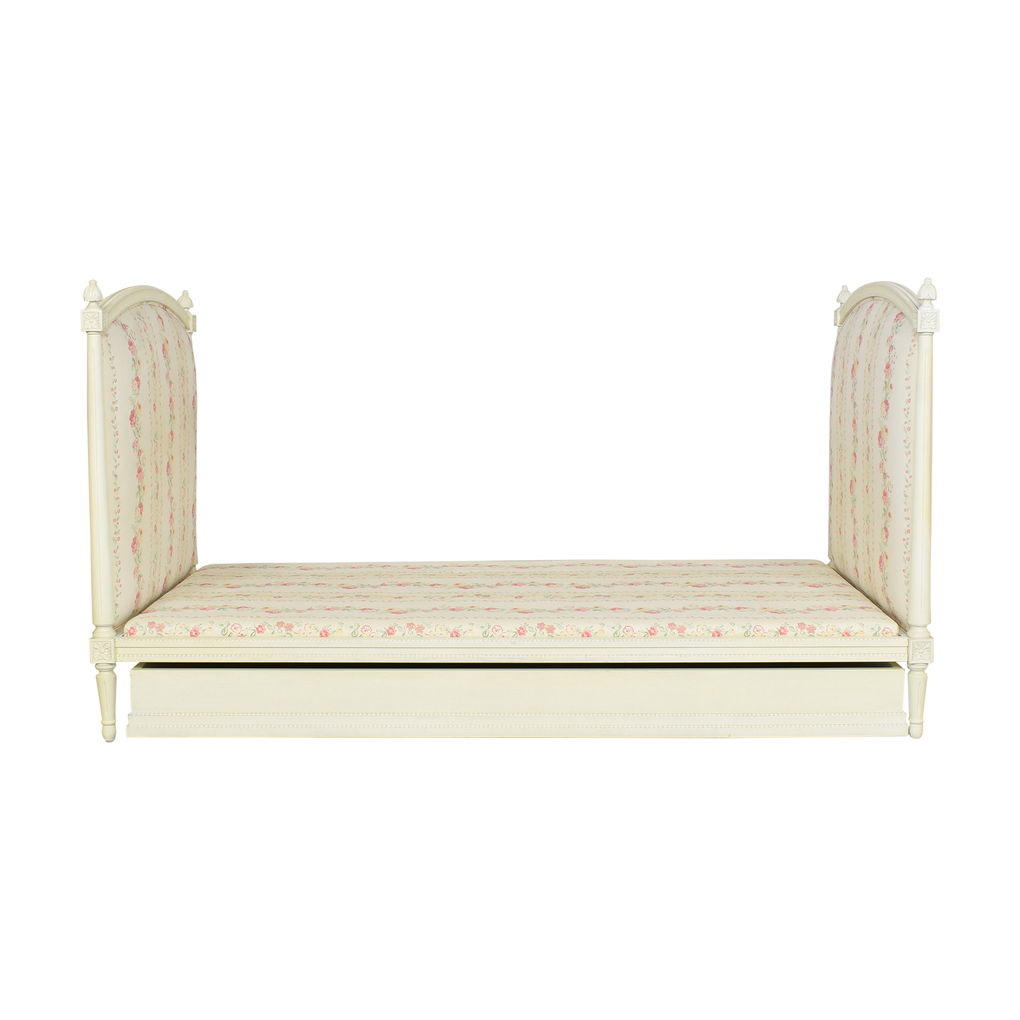 Twin Floral Daybed with Trundle ma