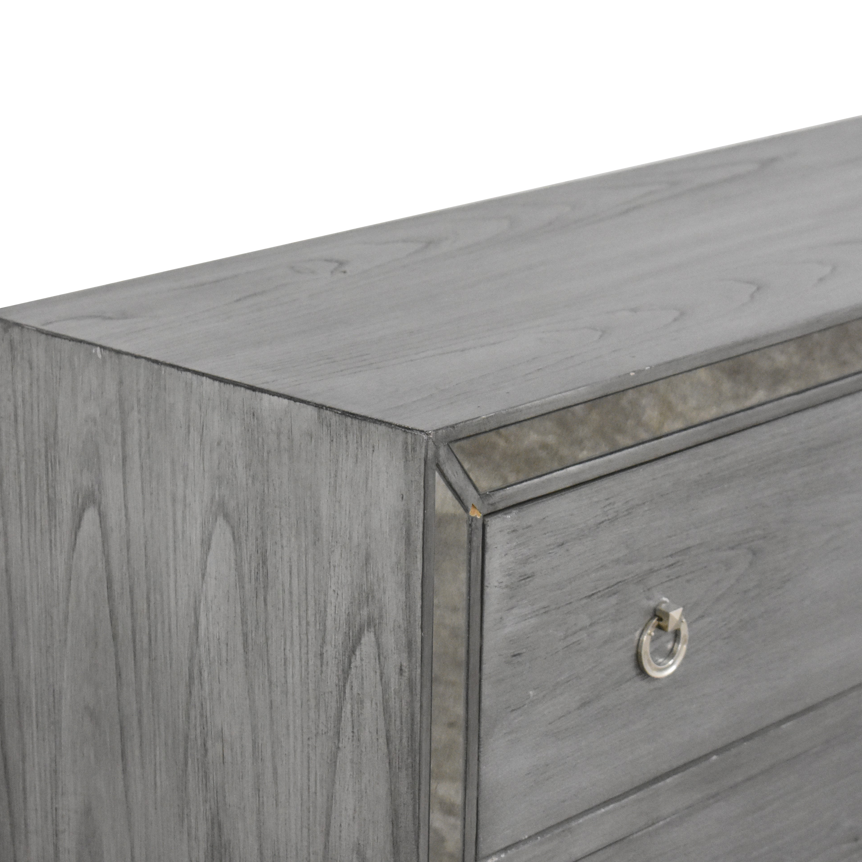 Madison Park Madison Park Amelia Reclaimed Three Drawer Mirrored Chest for sale
