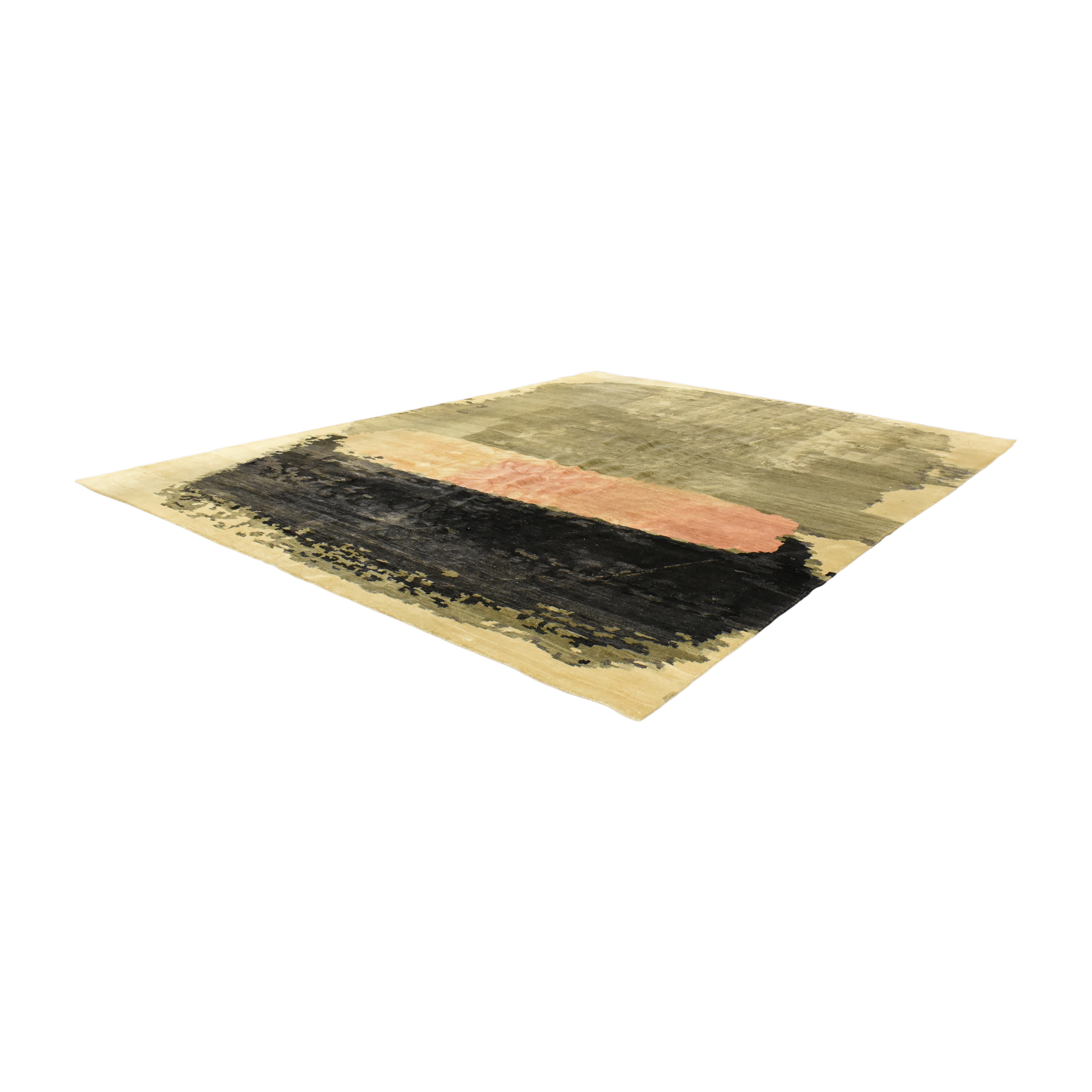 Anthropologie Anthropologie Painted Palette Area Rug dimensions
