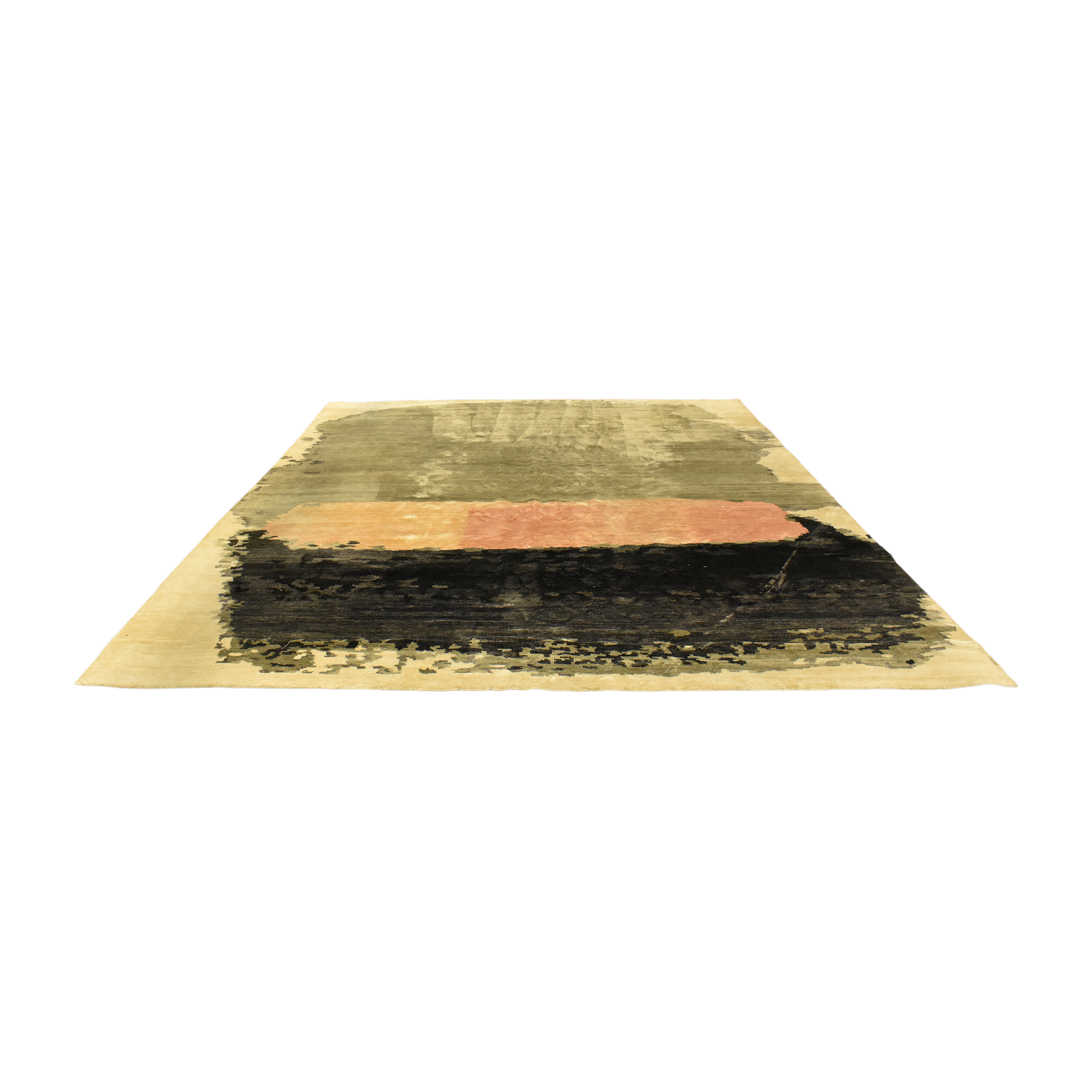 Anthropologie Painted Palette Area Rug / Rugs