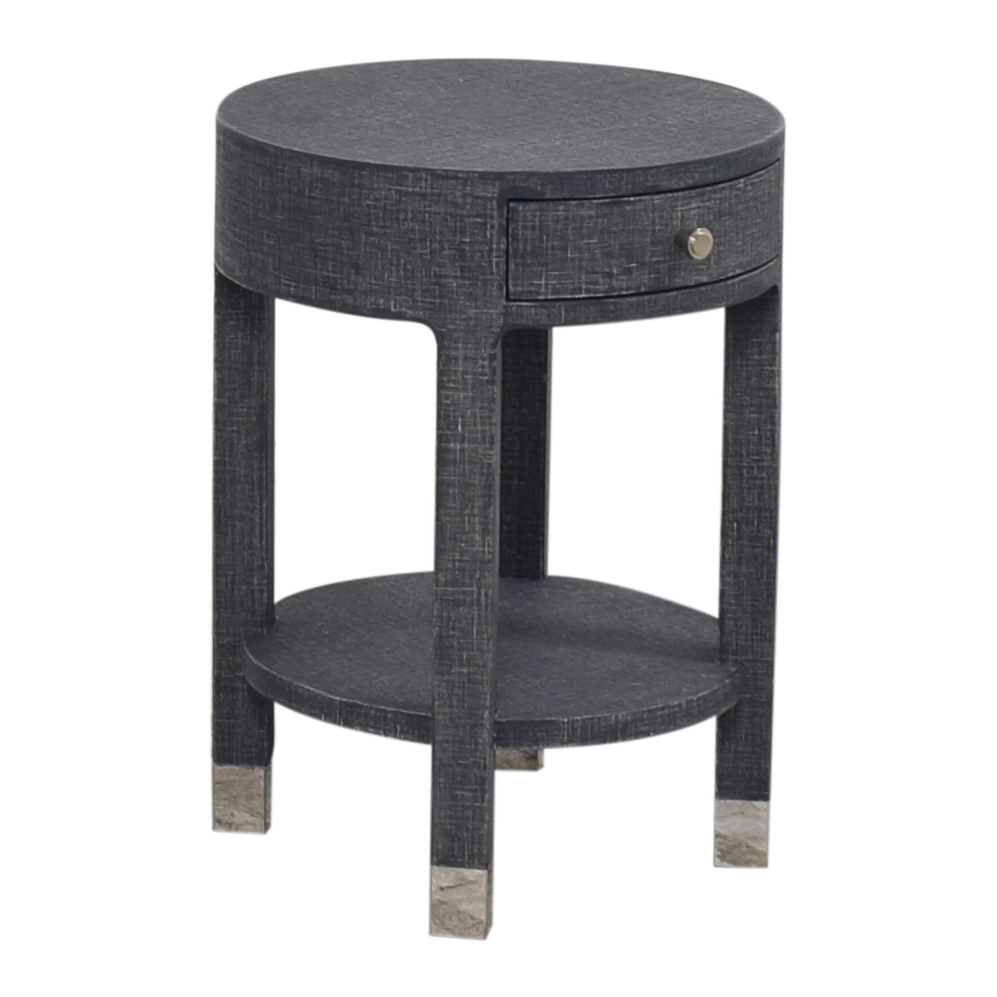 Bungalow 5 Dakota Round Side Table / End Tables