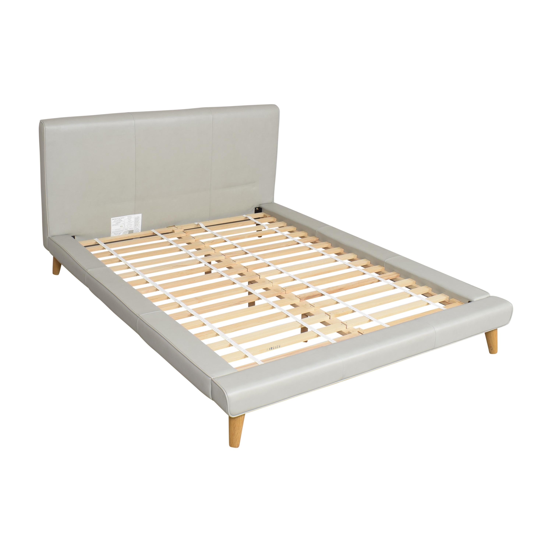 West Elm West Elm Mod Upholstered Queen Bed for sale