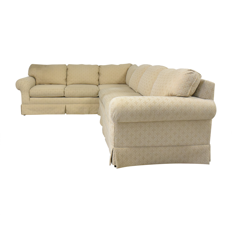 Huffman Koos Huffman Koos Corner Sectional Sofa dimensions