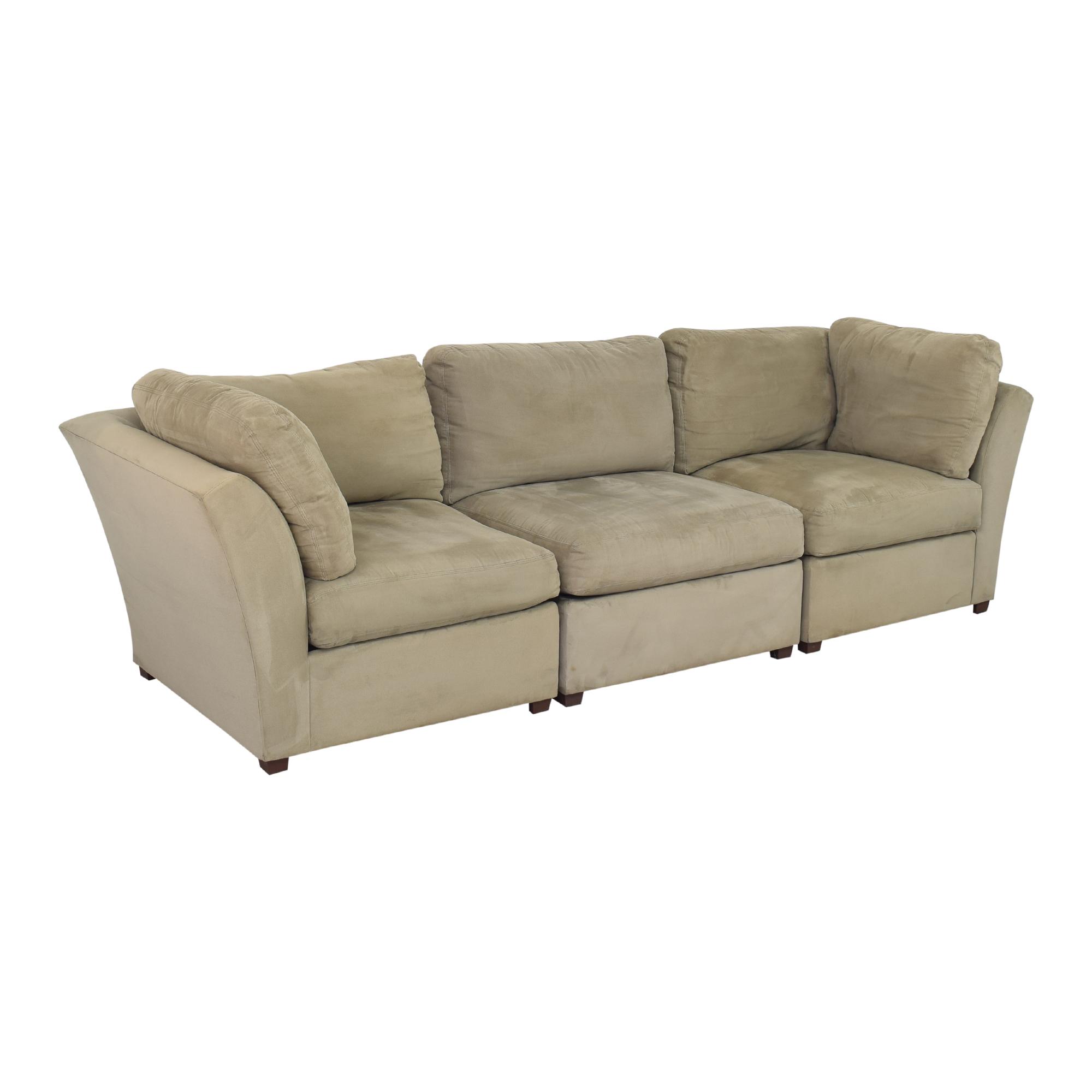 Raymour & Flanigan Raymour & Flanigan Modular Sofa Sofas