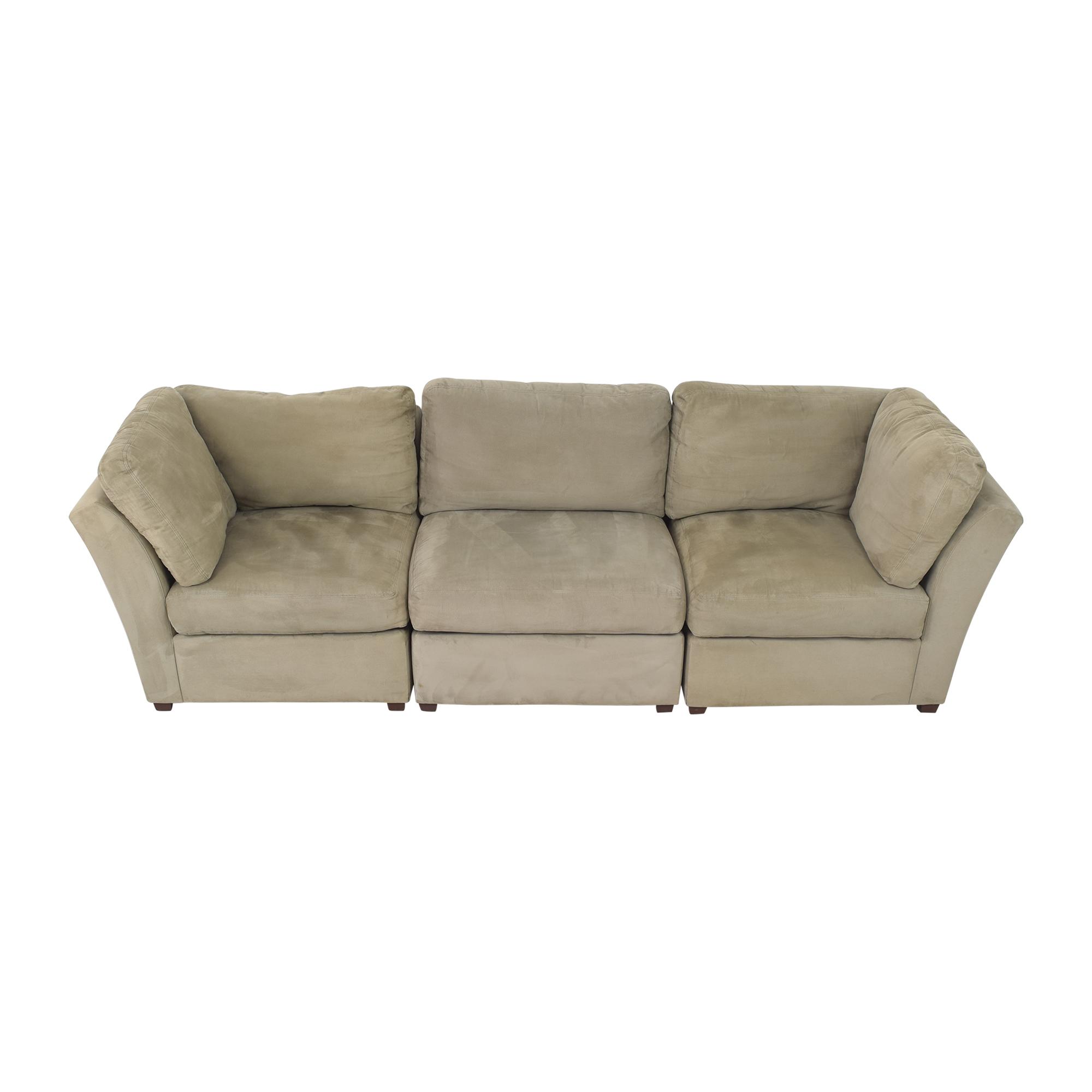 Raymour & Flanigan Raymour & Flanigan Modular Sofa discount