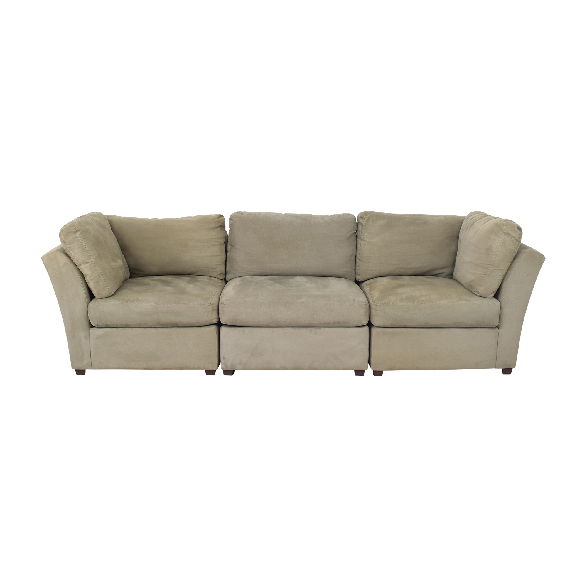 shop Raymour & Flanigan Modular Sofa Raymour & Flanigan
