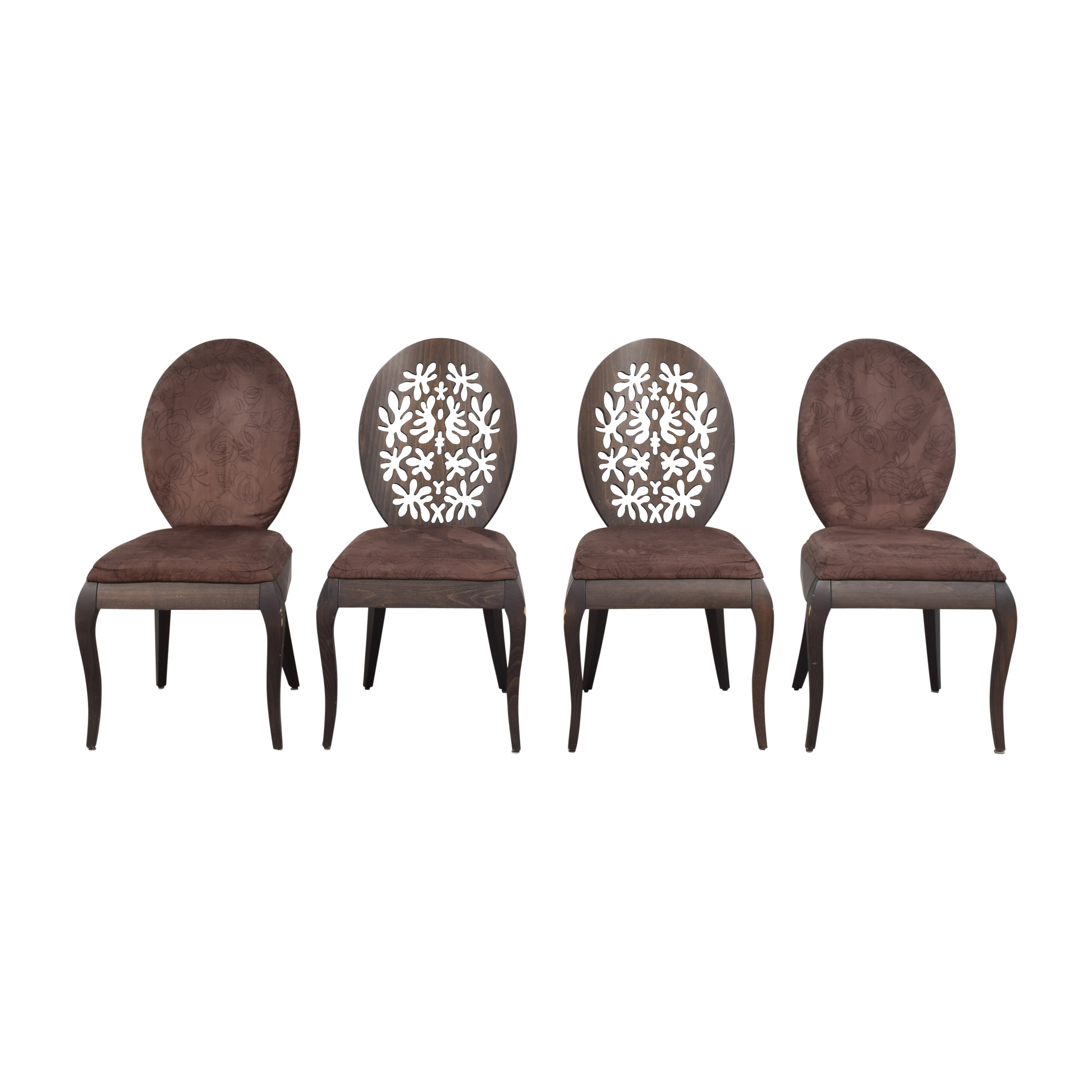 Michelangelo Designs Michelangelo Designs Oval Back Dining Chairs dimensions