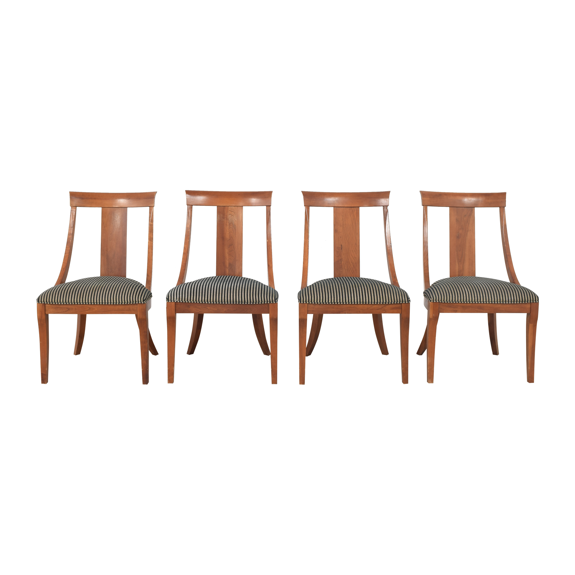 shop Ethan Allen Medallion Dining Chairs Ethan Allen Chairs