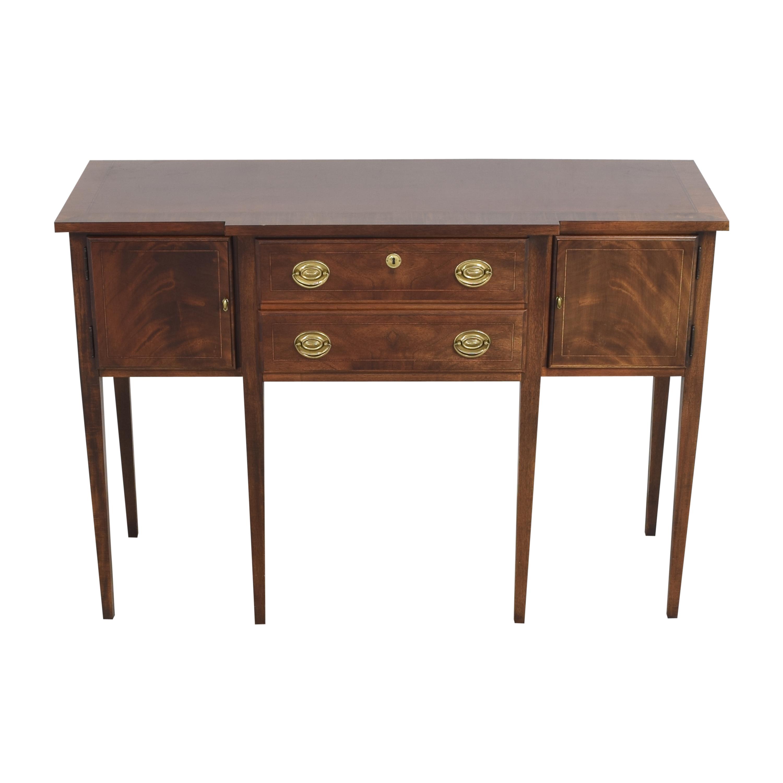 American Drew American Drew Hepplewhite-Style Sideboard dark brown