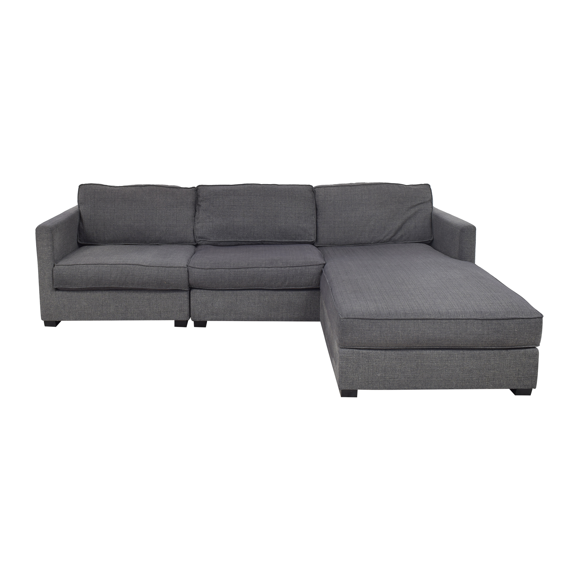 Gus Modern Gus Modern Parkdale Chaise Sectional Sofa Sectionals