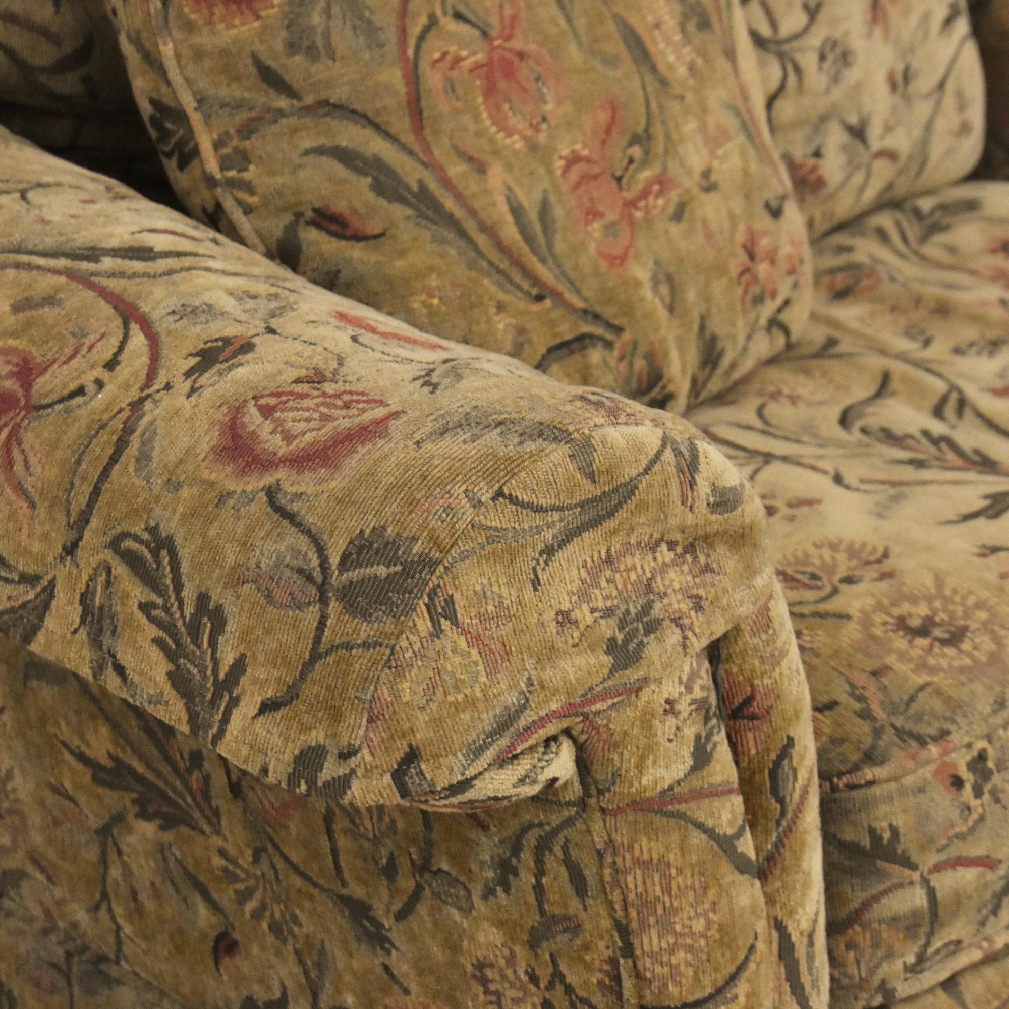 Clayton Marcus Clayton Marcus Skirted Two Cushion Sofa discount