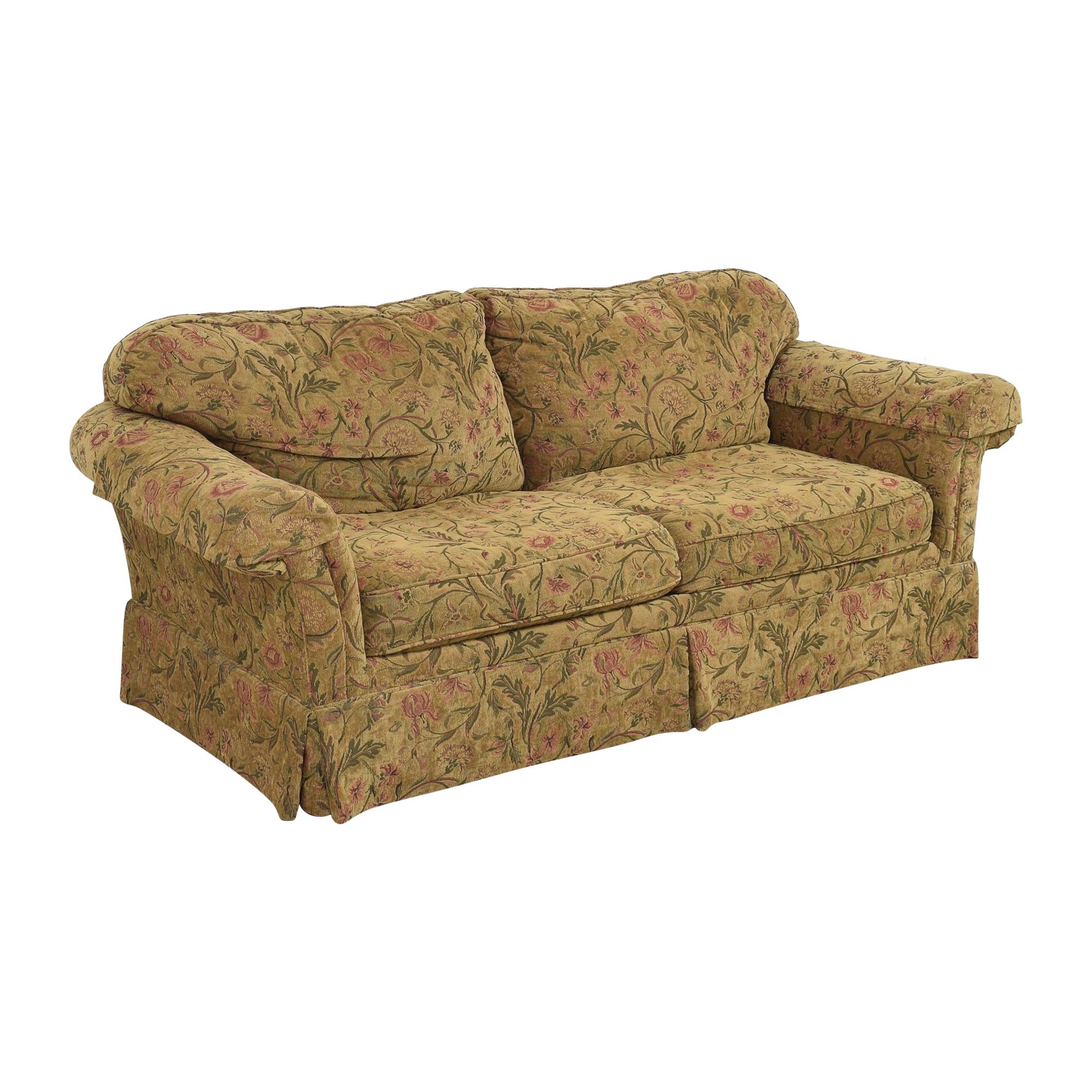 Clayton Marcus Clayton Marcus Skirted Two Cushion Sofa coupon