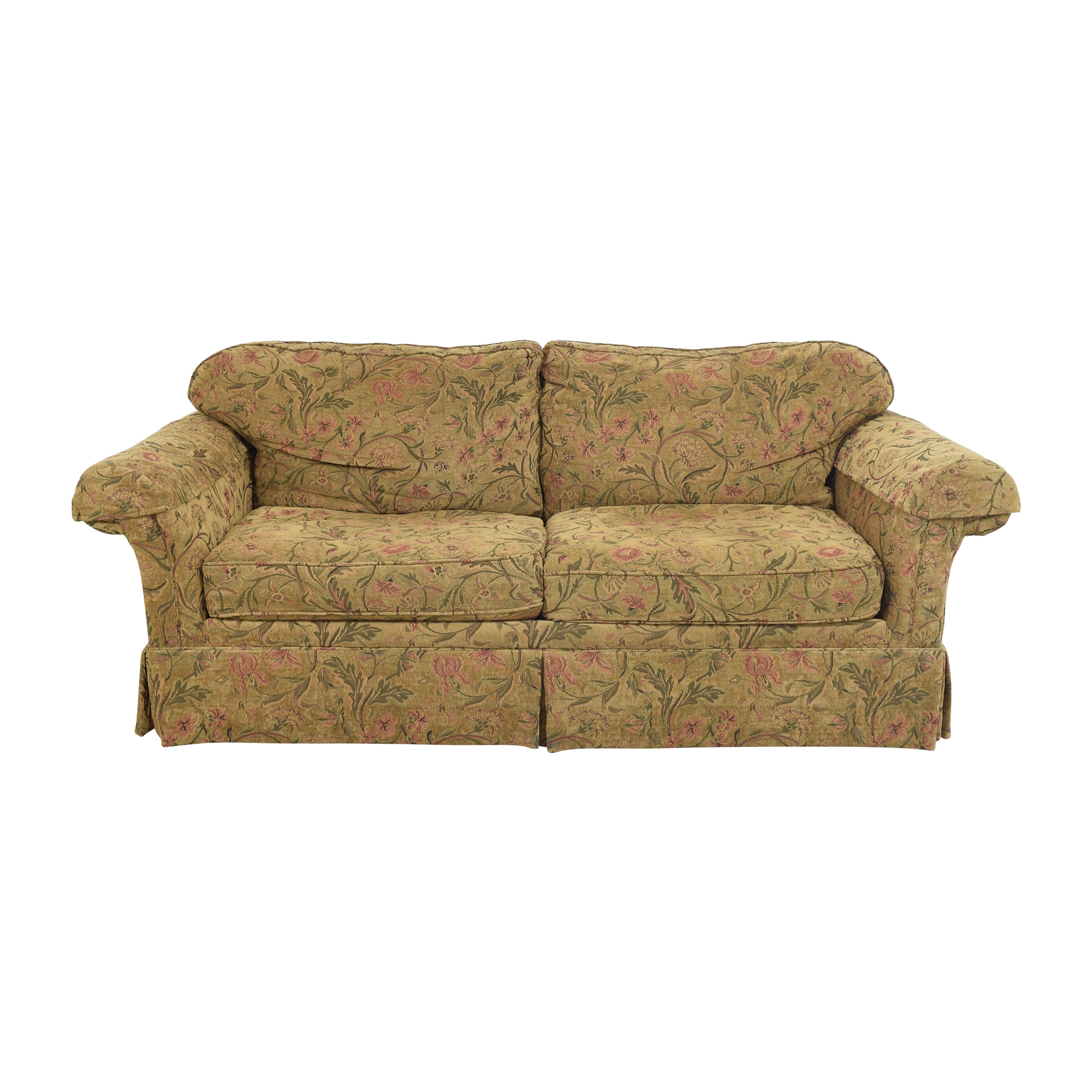 Clayton Marcus Skirted Two Cushion Sofa / Classic Sofas