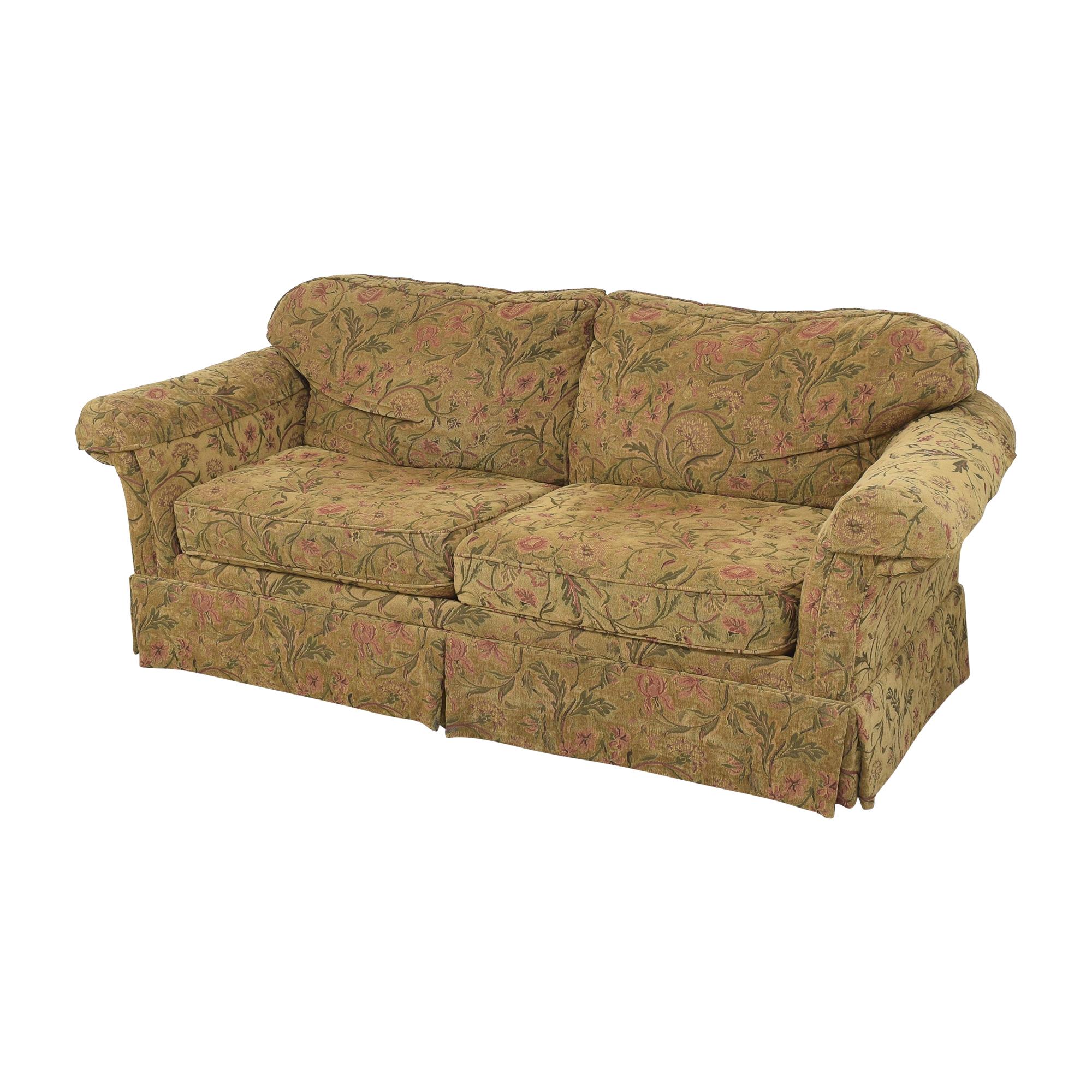 Clayton Marcus Clayton Marcus Skirted Two Cushion Sofa nyc