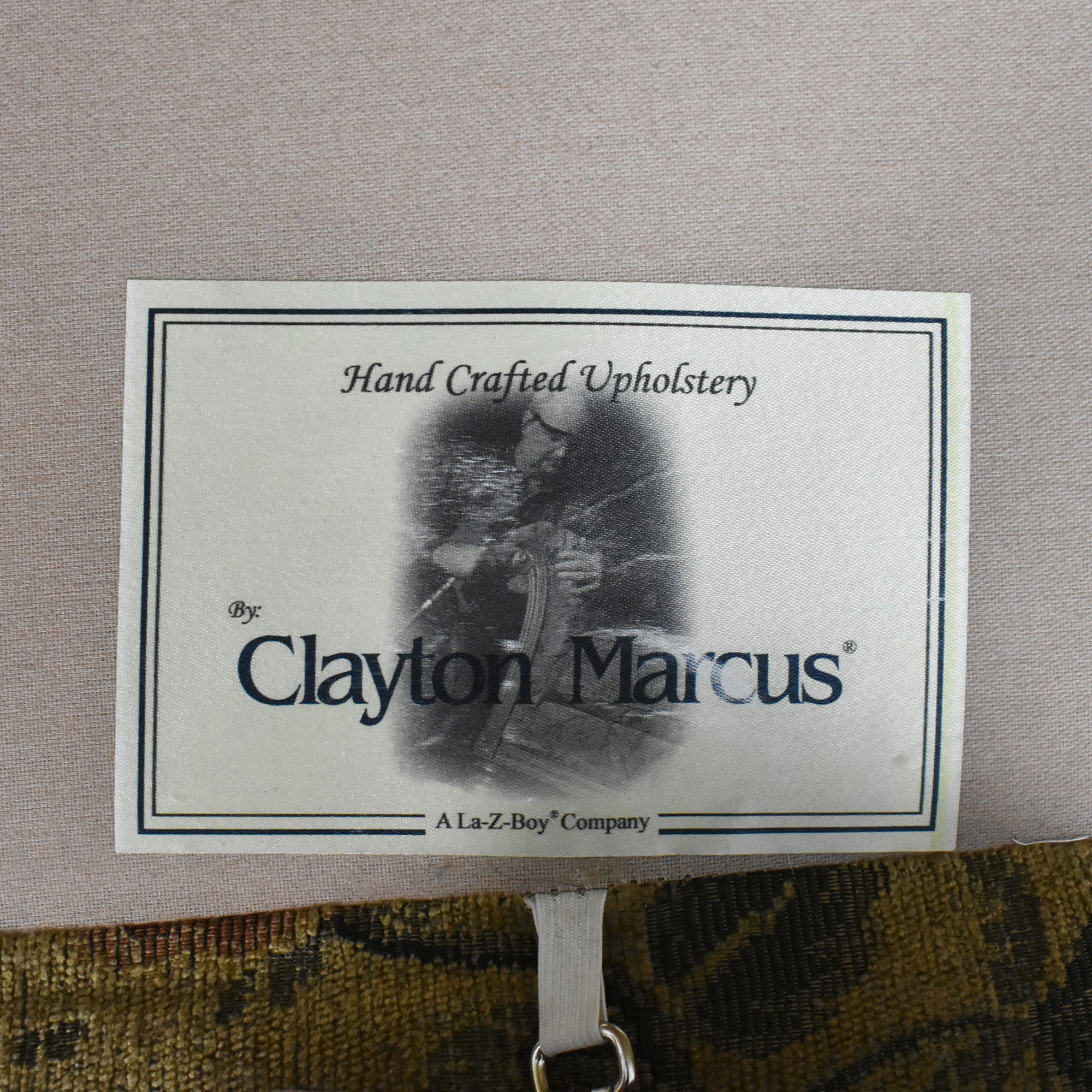 buy Clayton Marcus Skirted Two Cushion Sofa Clayton Marcus Classic Sofas