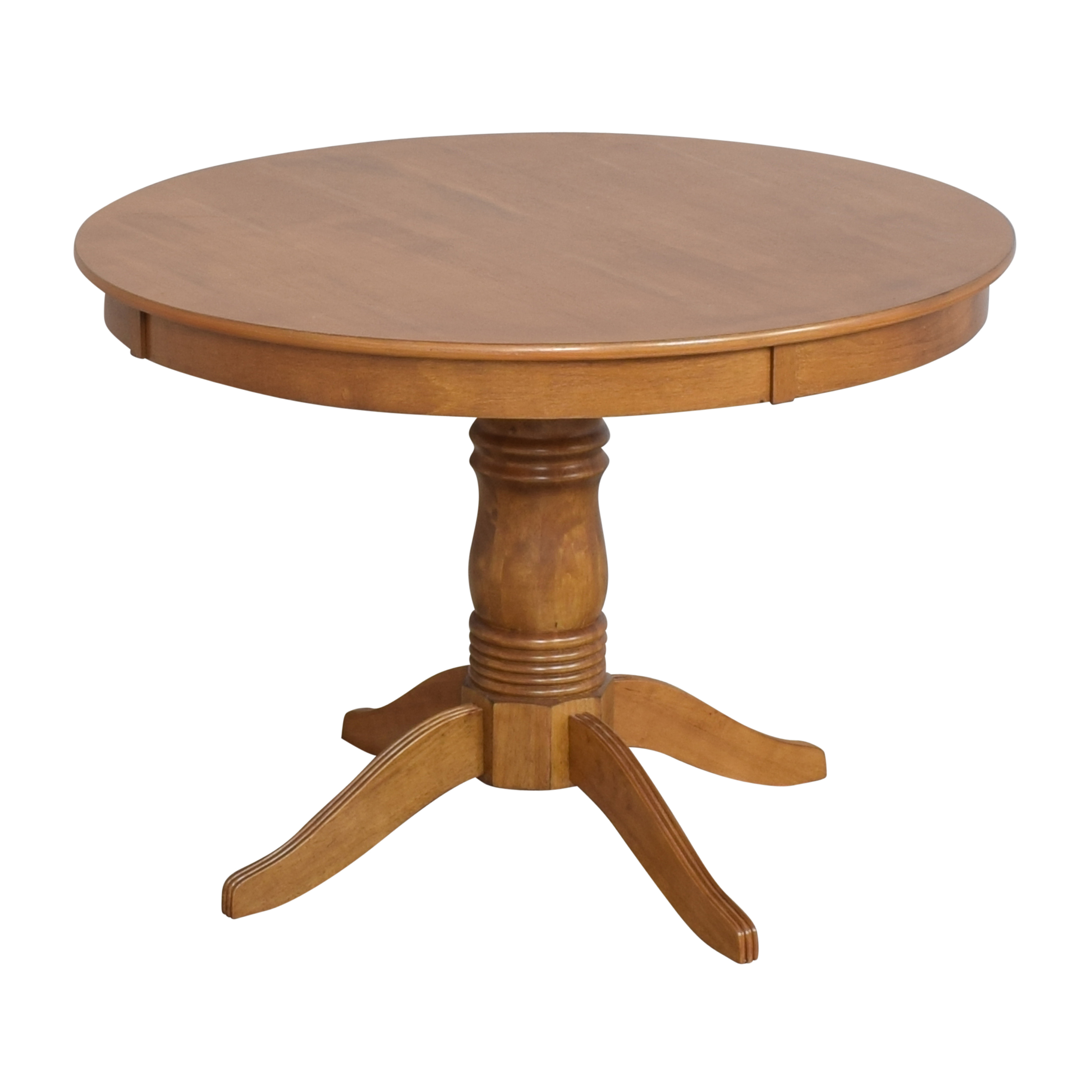 Round Pedestal Dining Table dimensions