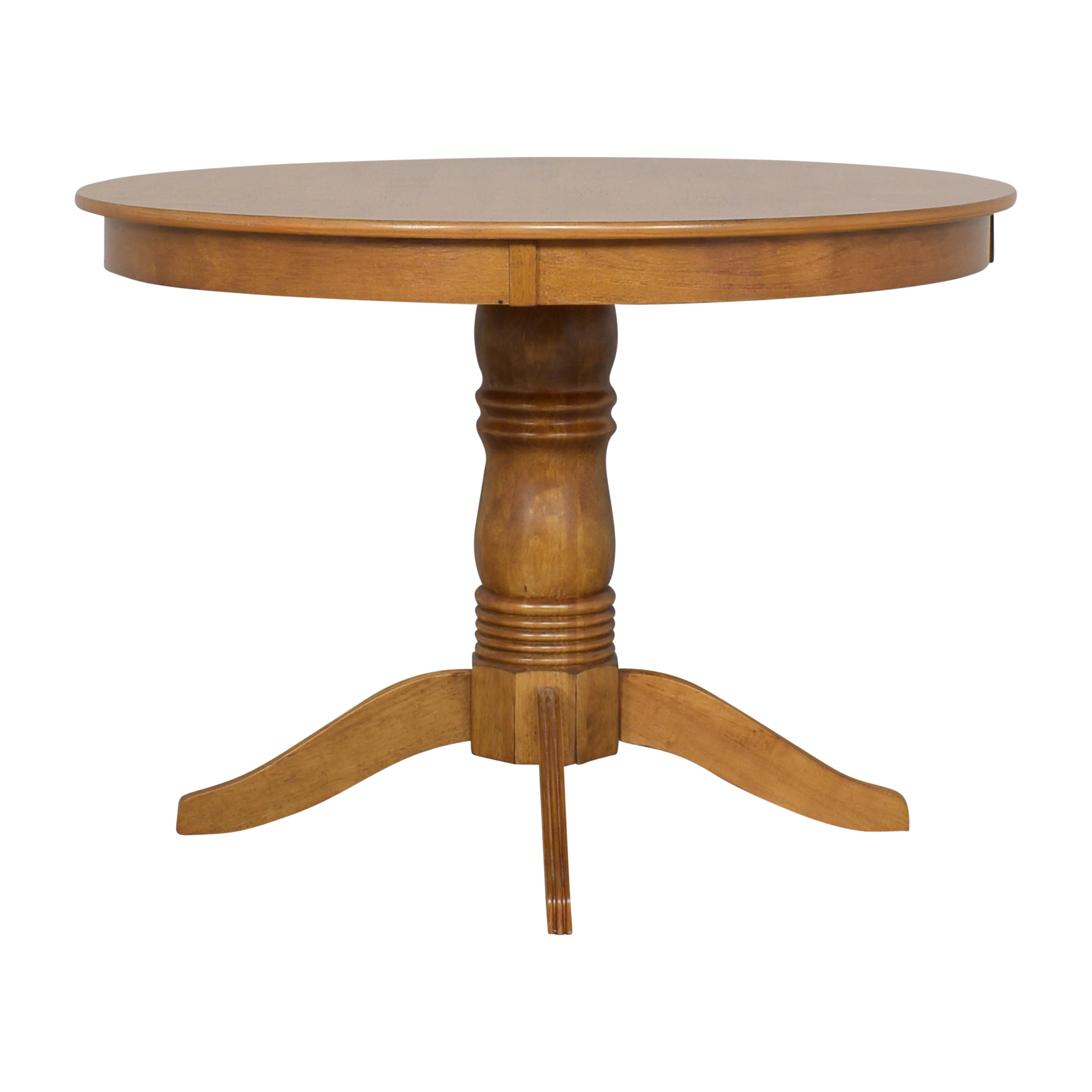Round Pedestal Dining Table on sale