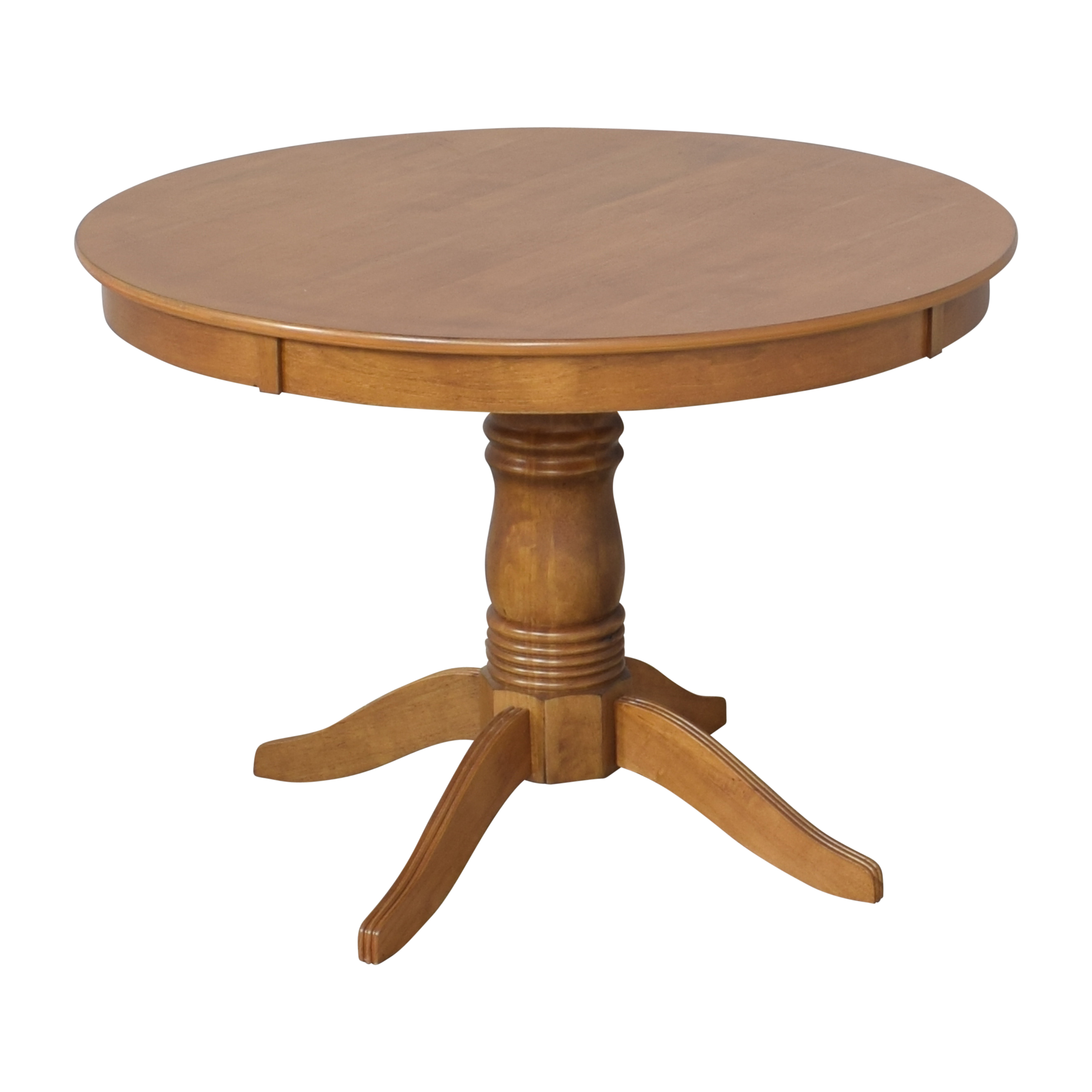 Round Pedestal Dining Table for sale