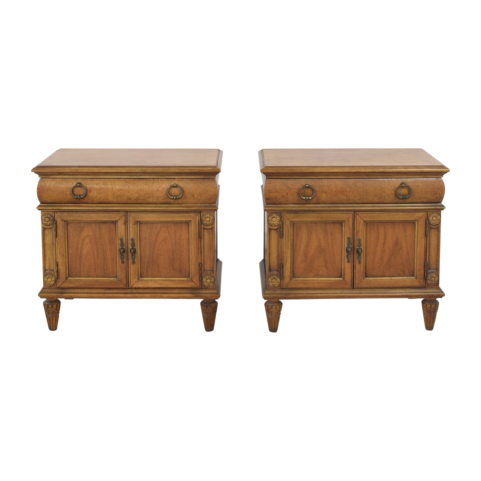 Thomasville Thomasville Two Door Nightstands on sale