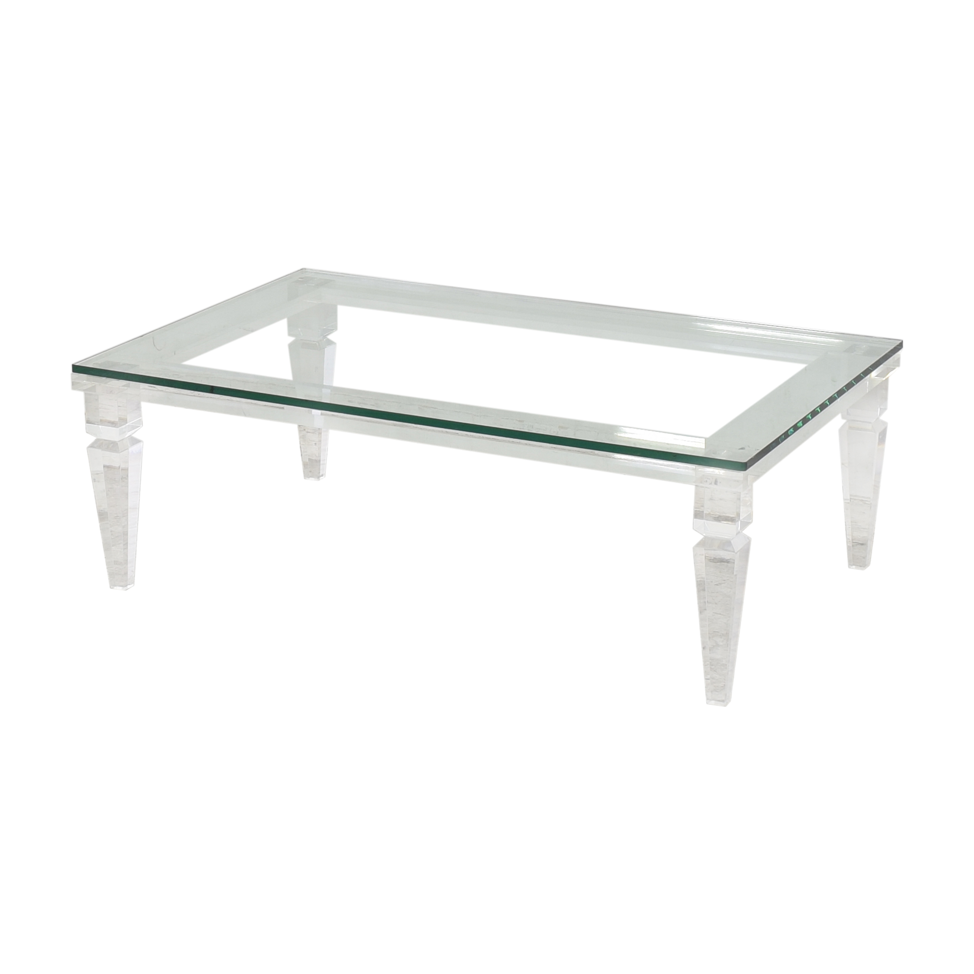 Interlude Home Interlude Home Savannah Rectangular Cocktail Table for sale