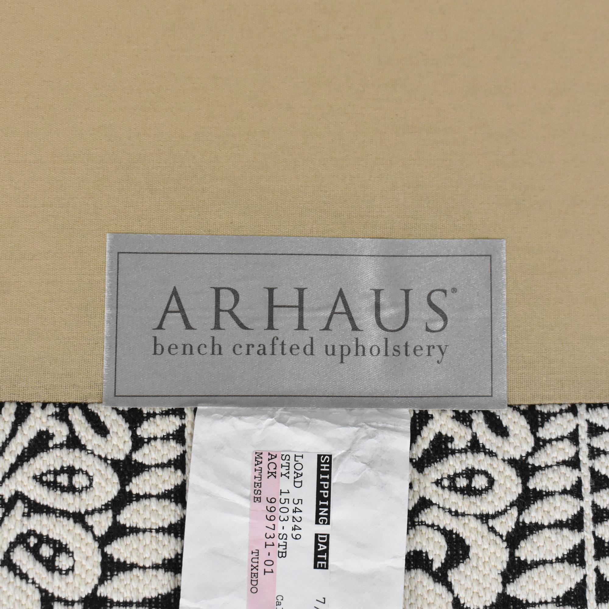 shop Arhaus Modern Settee Arhaus